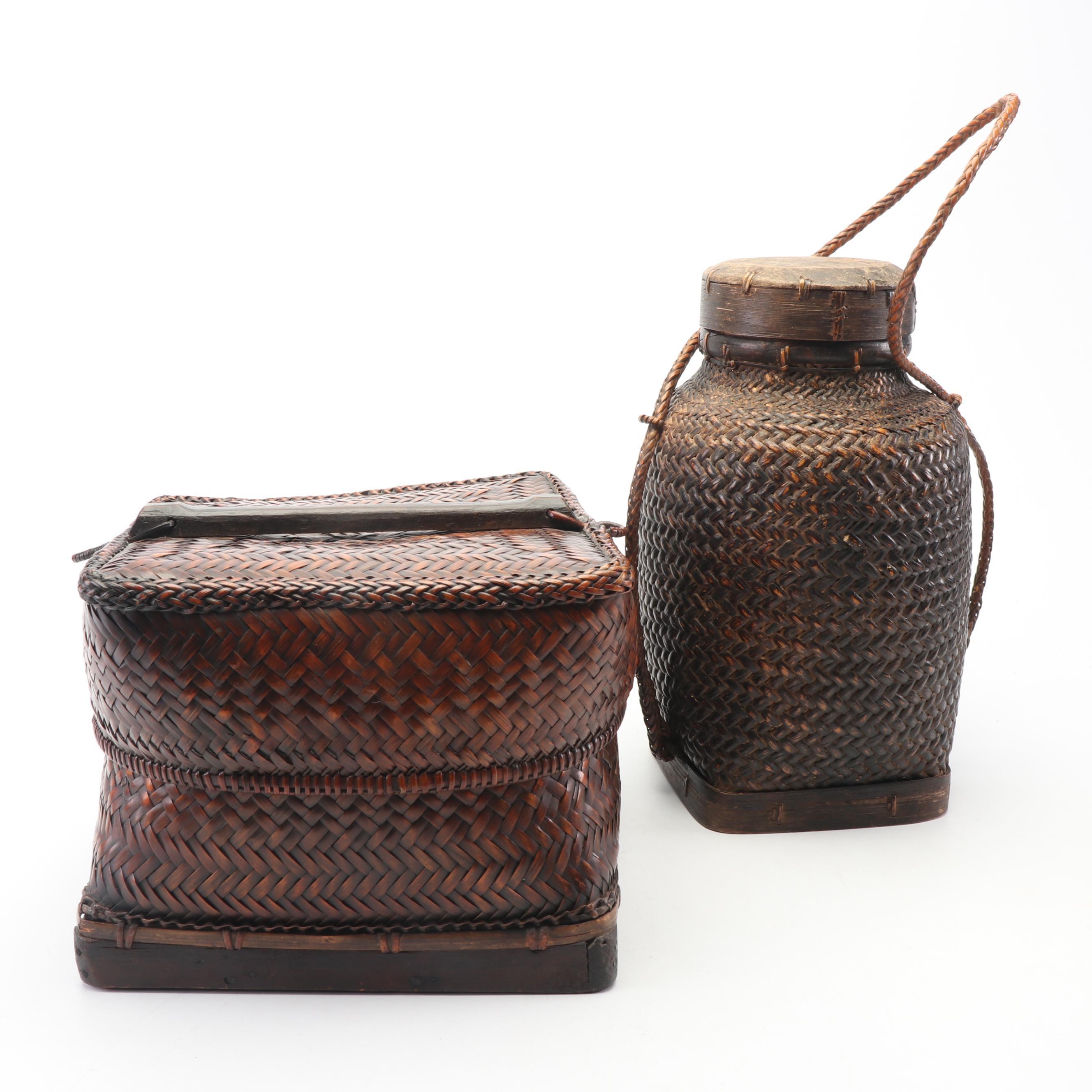 Japanese Bamboo Baskets
