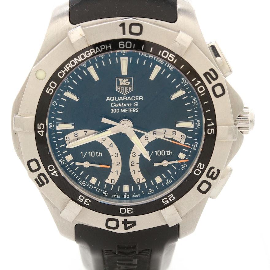 TAG Heuer Aquaracer Calibre S Quartz Chronograph Wristwatch