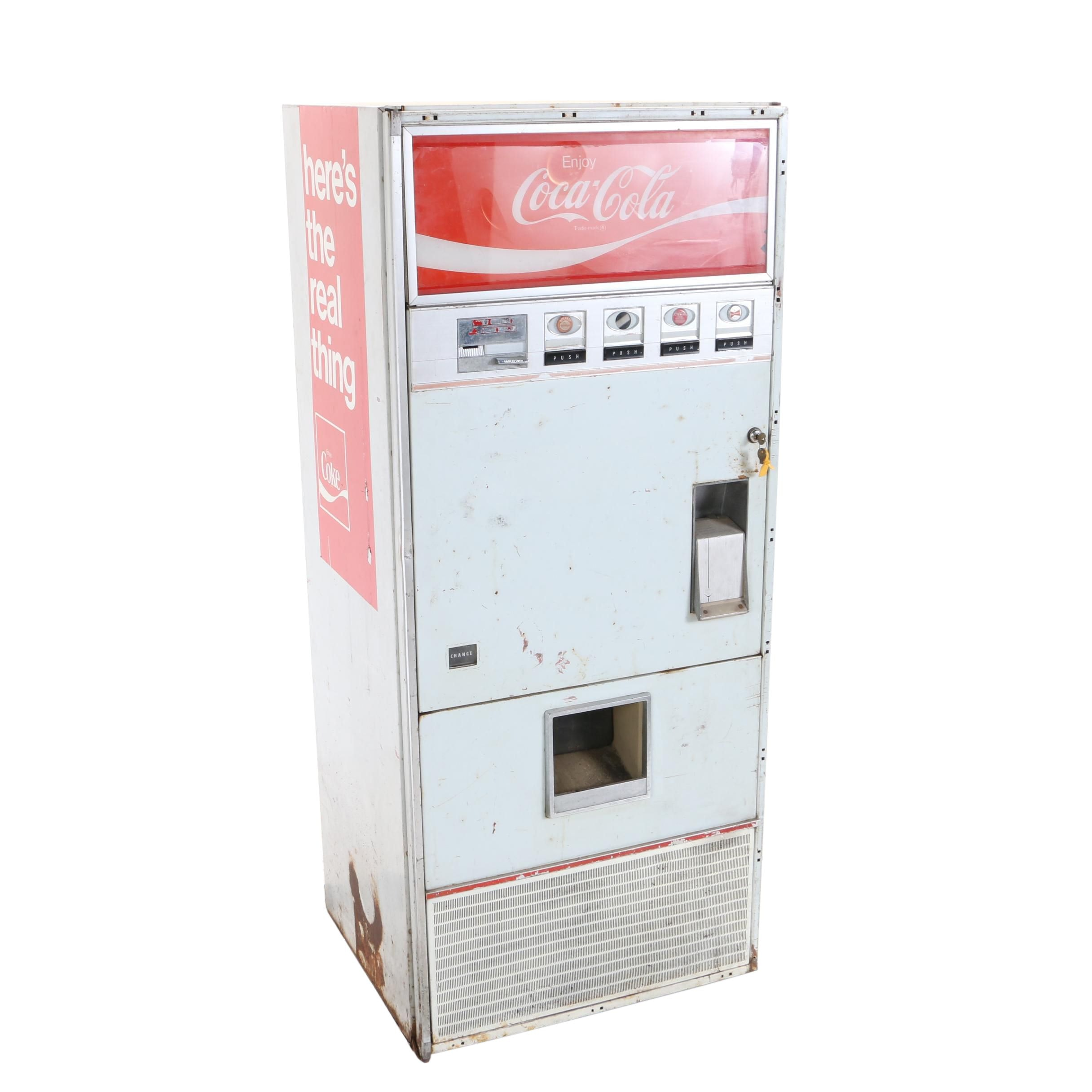 "Vintage Vendo ""Model VF-148C"" Coca-Cola Vending Machine"