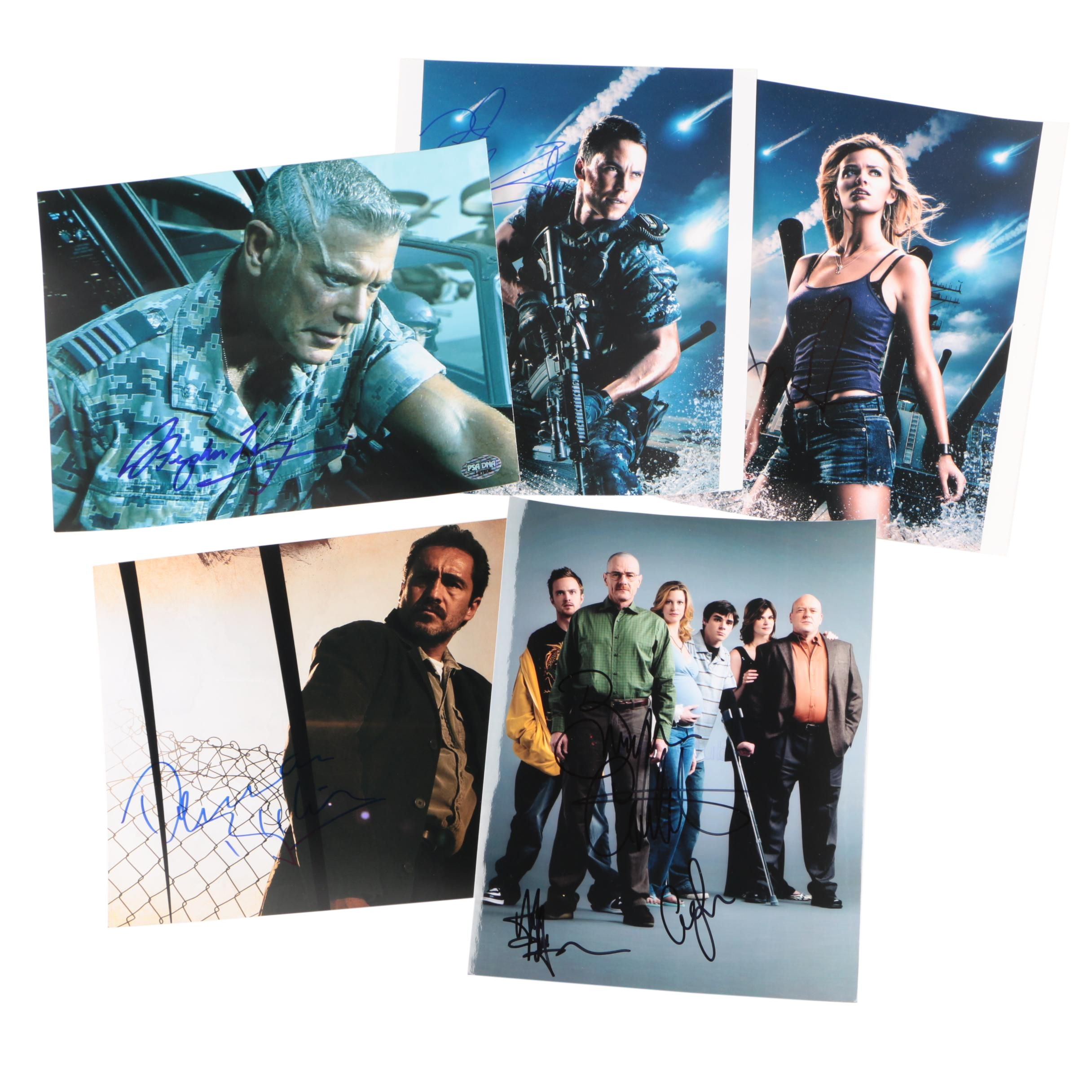 """Breaking Bad"" Autographed Cast Photo and Other Autographs"