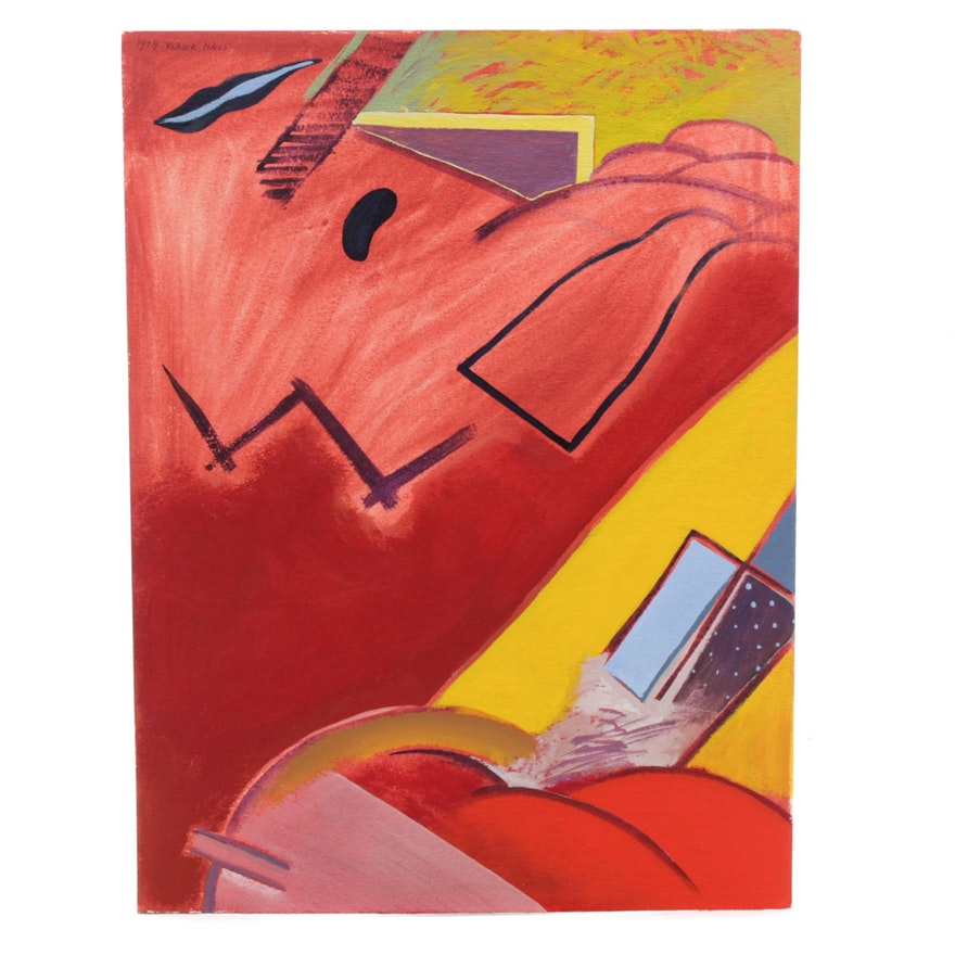 Doris Vlasek Hails Abstract Painting