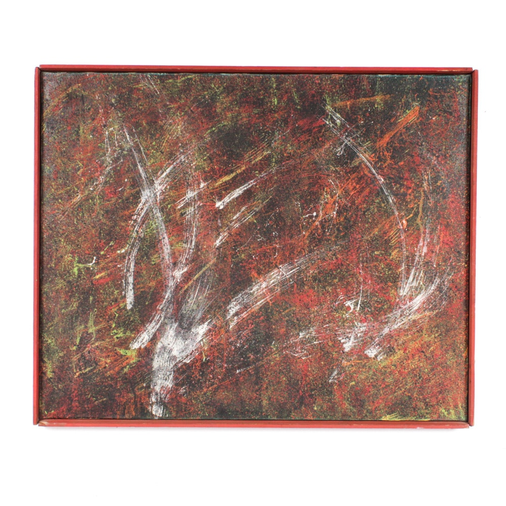 Abstract Expressionist Oil Painting