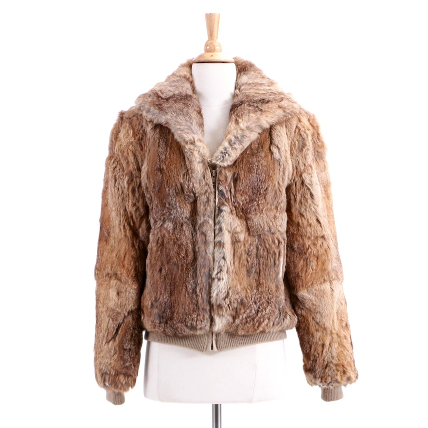 Vintage Dino Ricco Rabbit Fur Jacket