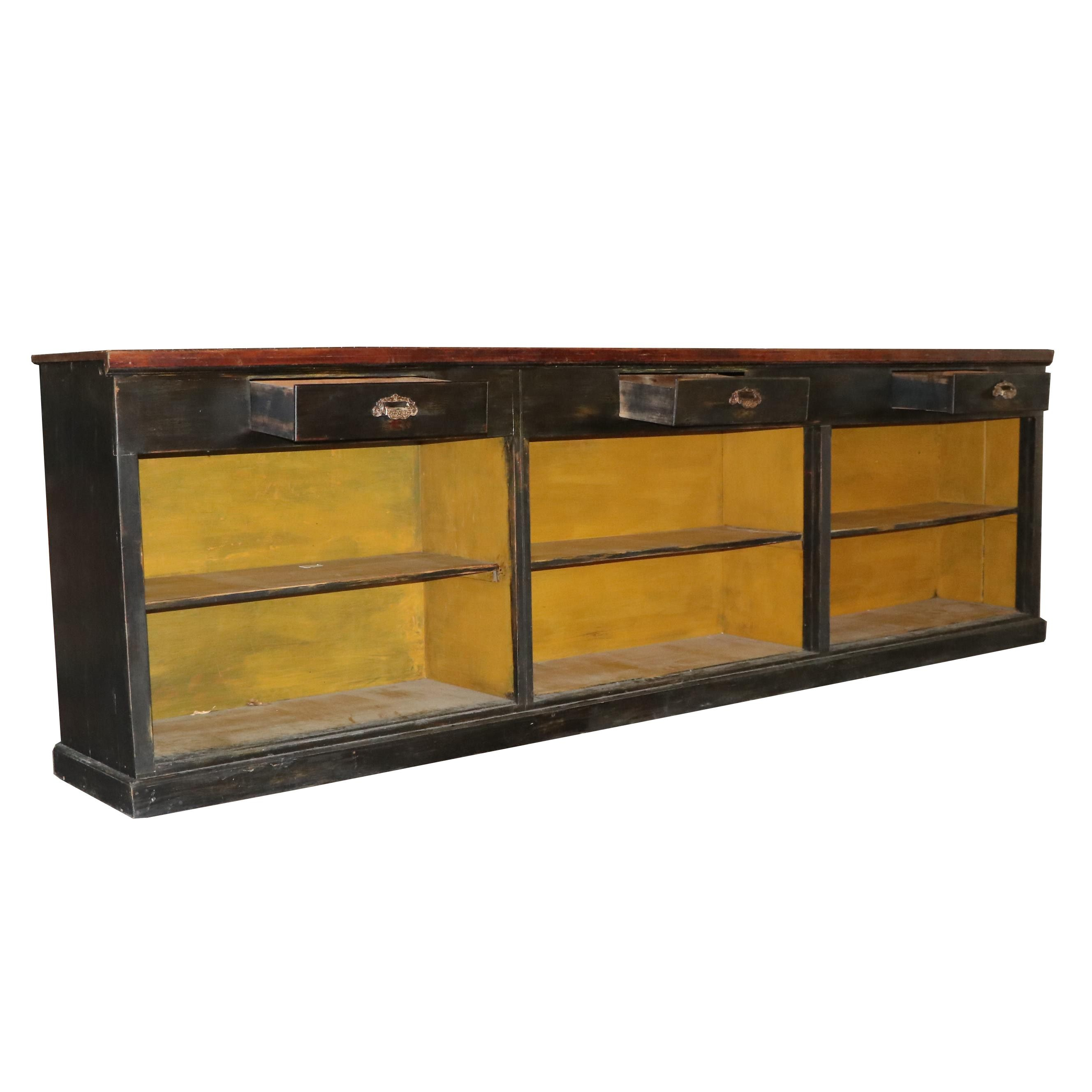 Painted Wood Credenza, Mid/Late 20th Century
