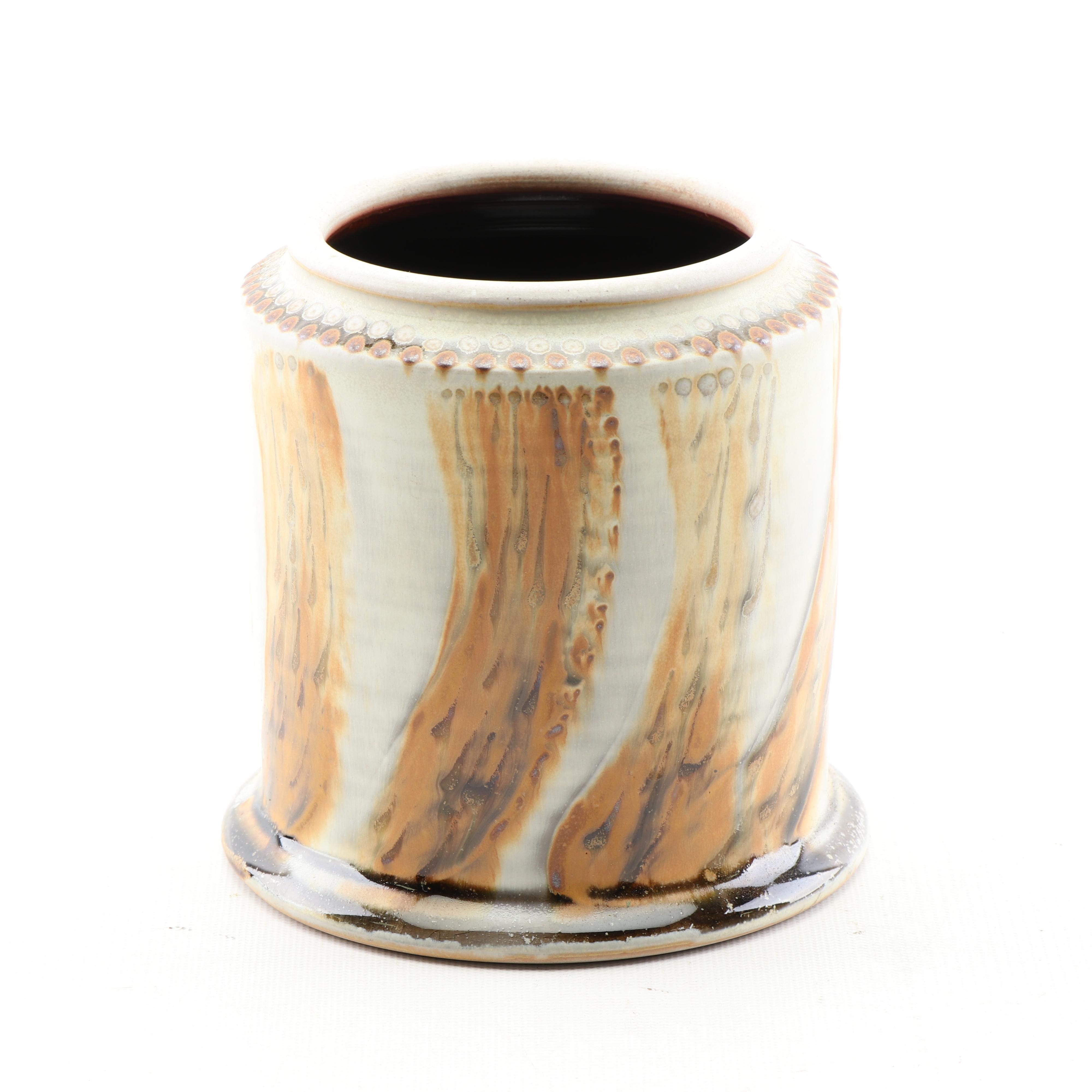 Bulldog Pottery Ceramic Wine Cooler