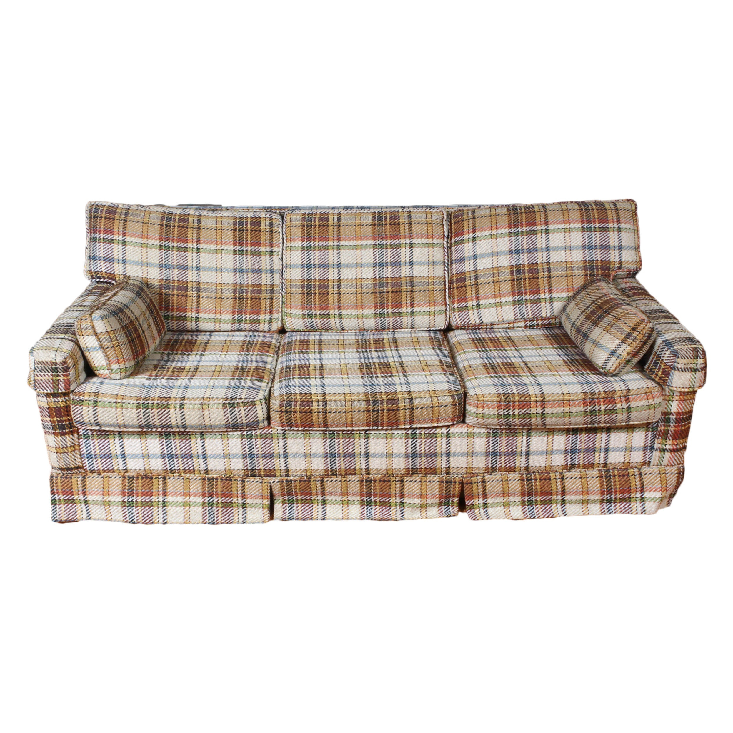 Vintage Sofa with Pull-Out Bed