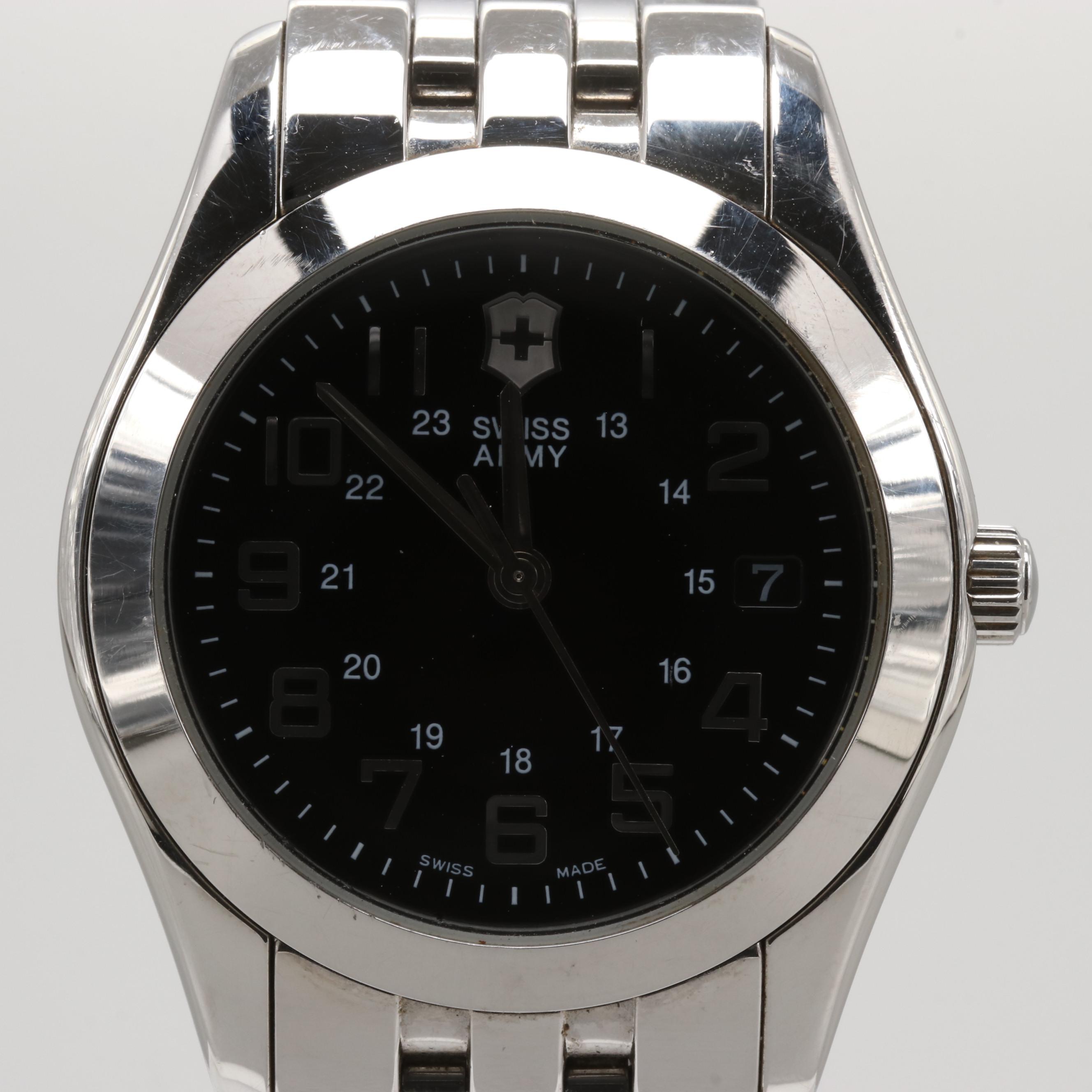 Victorinox Swiss Army Alliance Stainless Steel Quartz Wristwatch