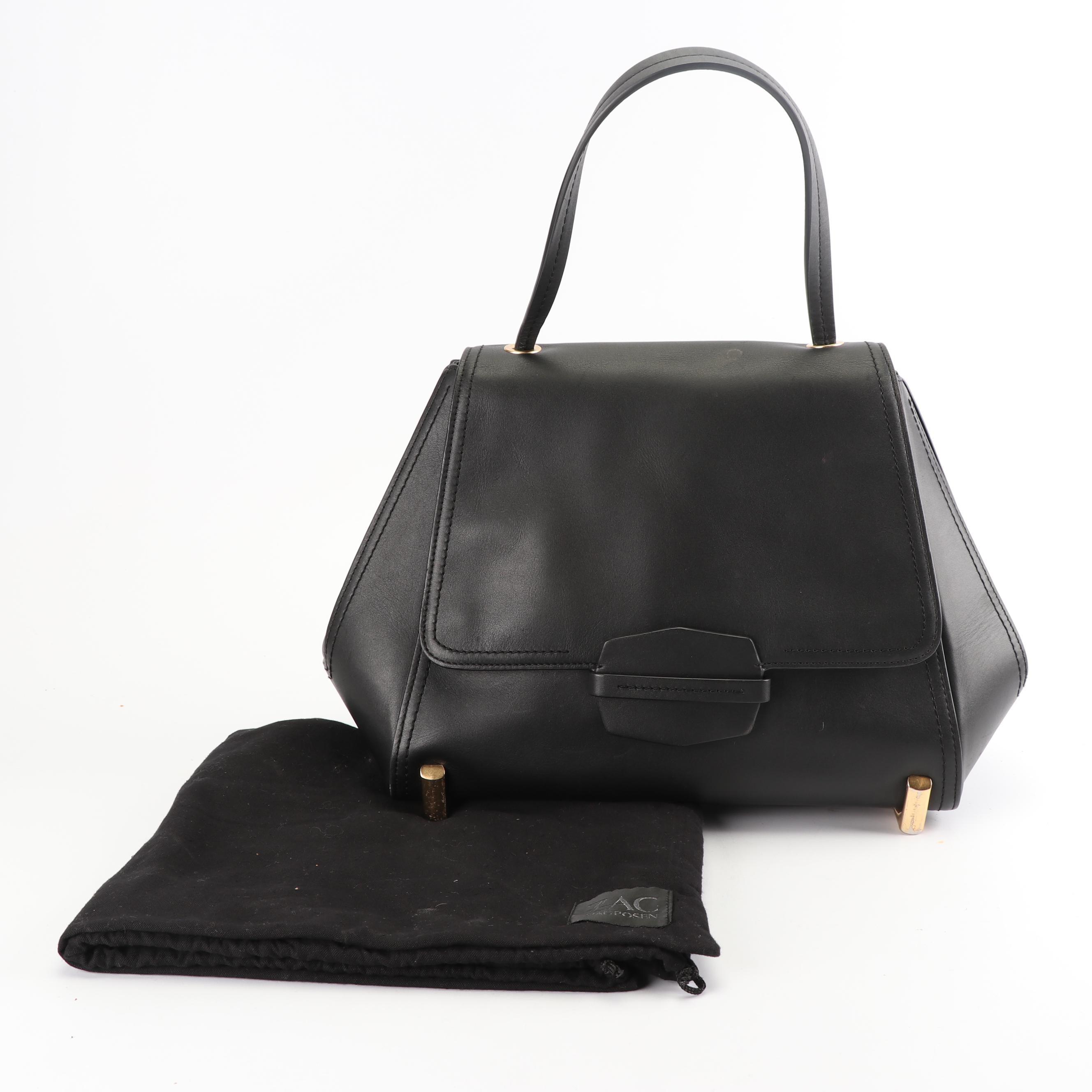 ZAC Zac Posen Black Leather Handbag