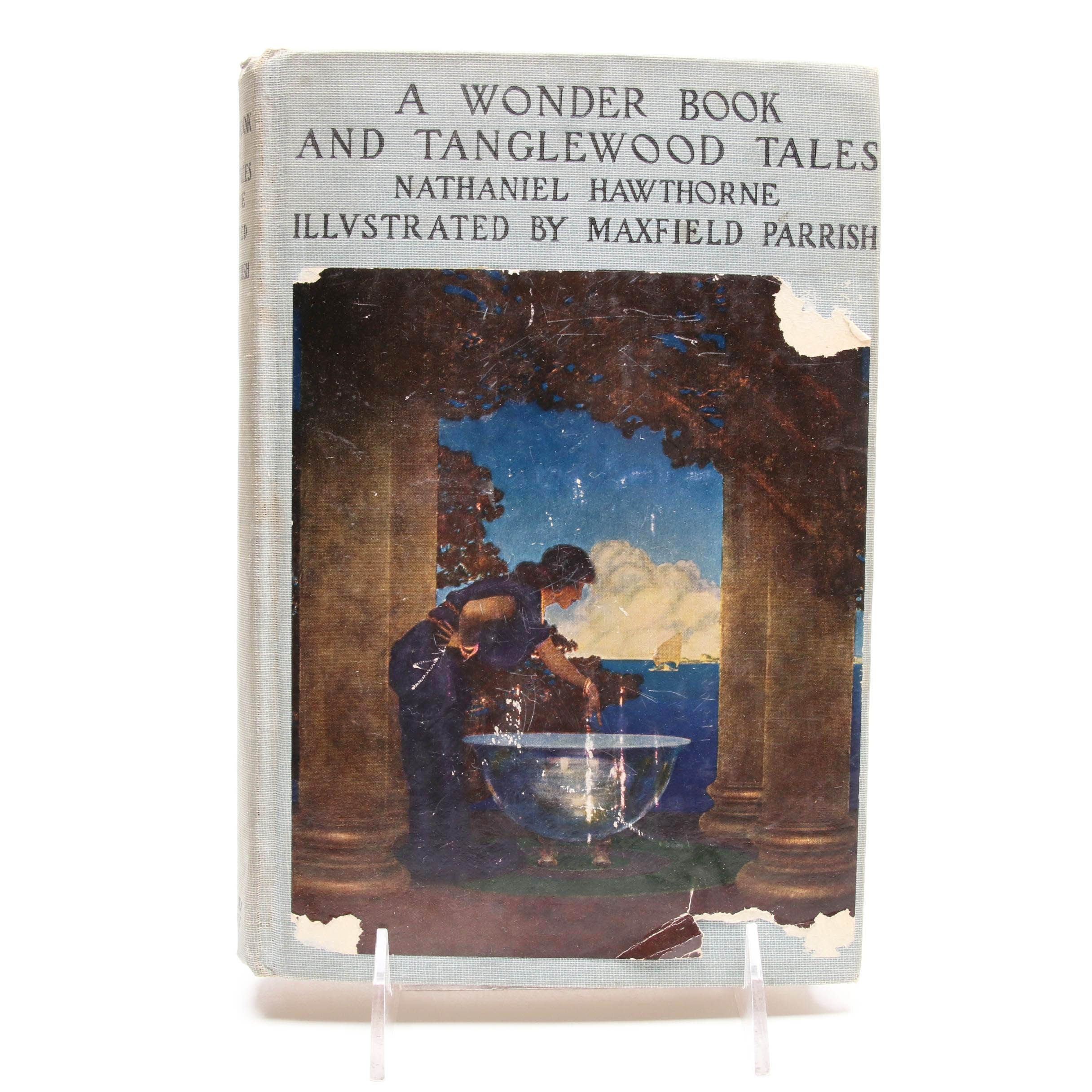 """Maxfield Parrish Illustrated """"A Wonder Book and Tanglewood Tales"""" by Hawthorne"""