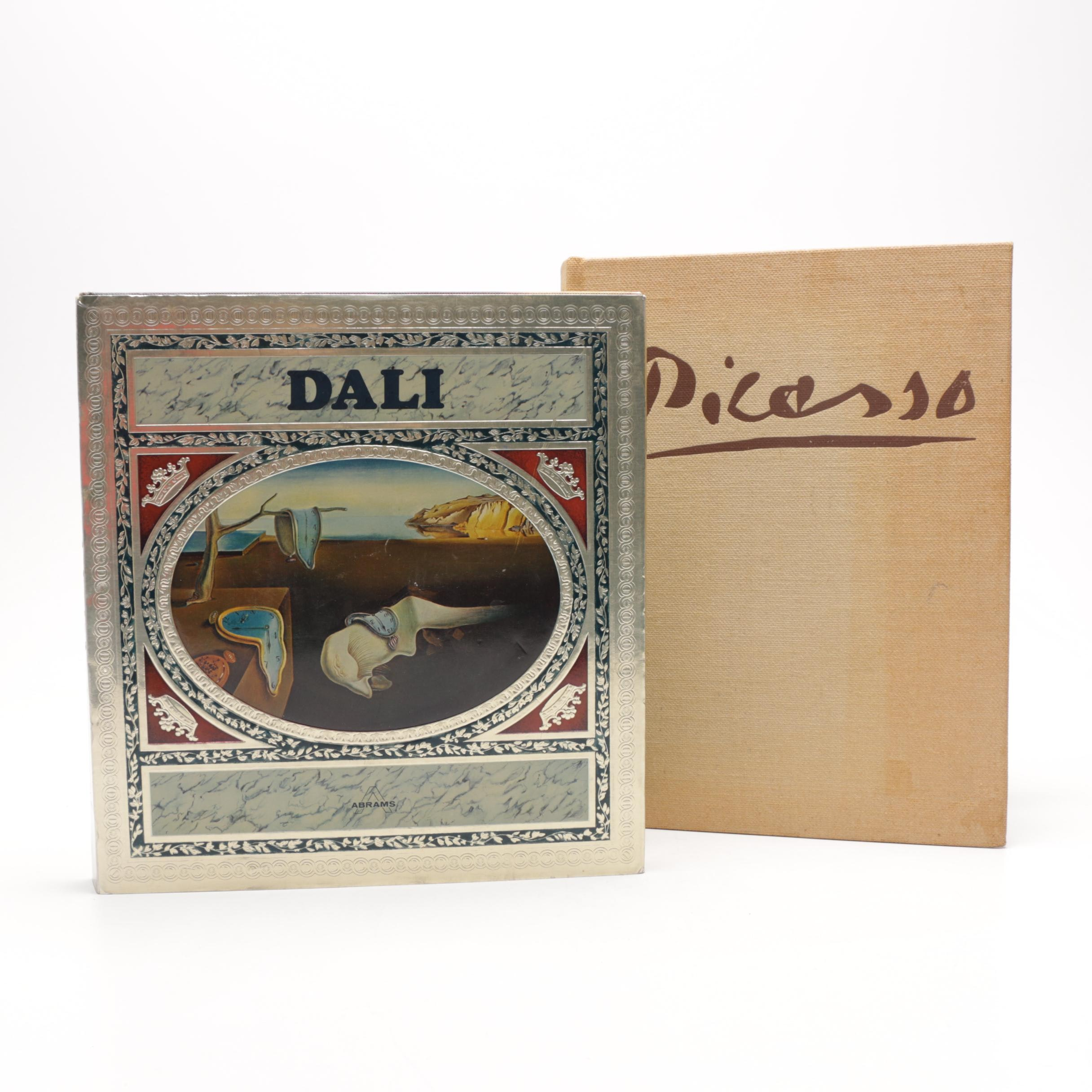 """Dalí"" and ""Picasso at 90: The Late Work"" Art Books"