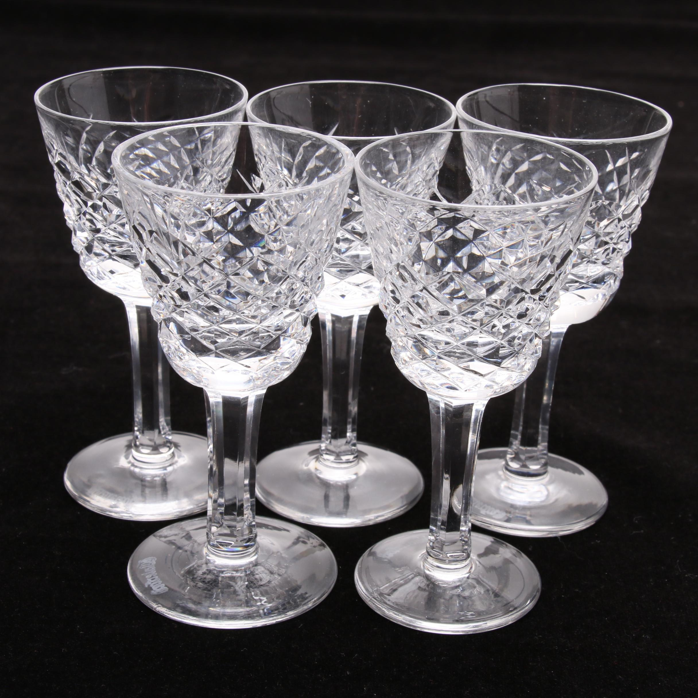 Waterford Crystal Cordial Glasses