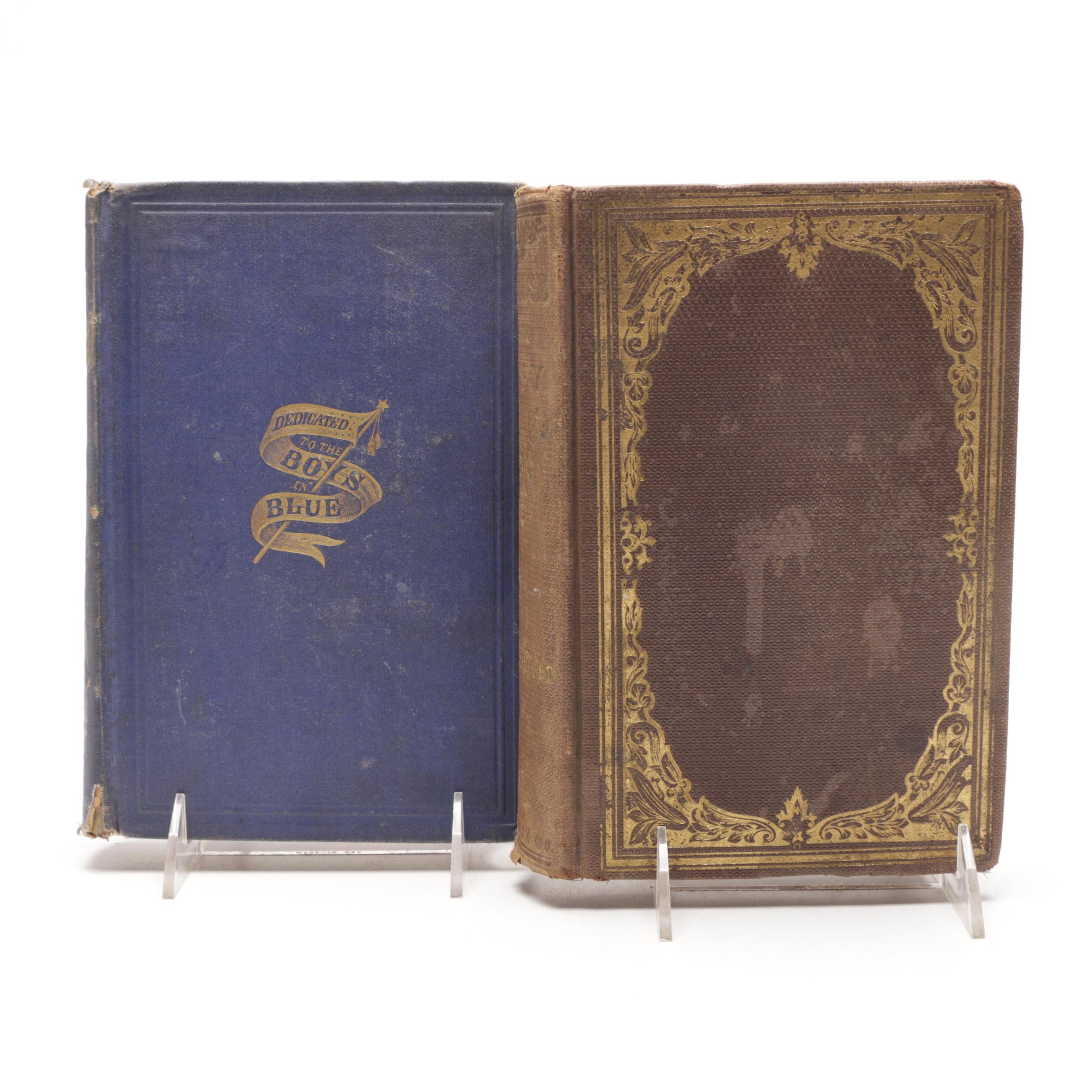 Antique Books on the Union Army featuring First Editions