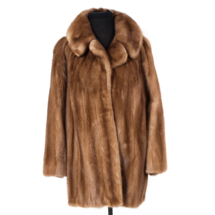 Vintage Lazarus Mink Fur Coat