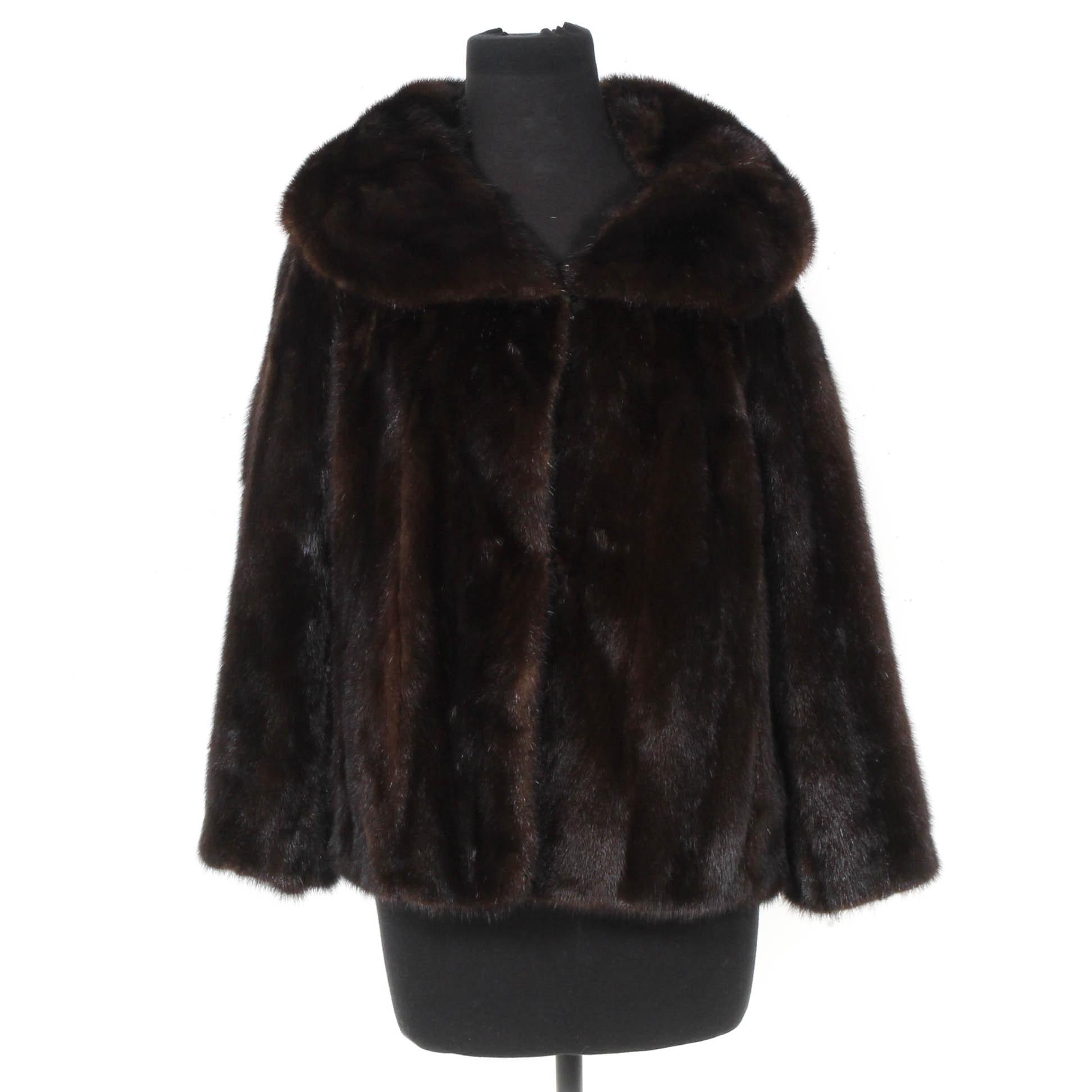 Vintage Lazarus Mink Fur Jacket