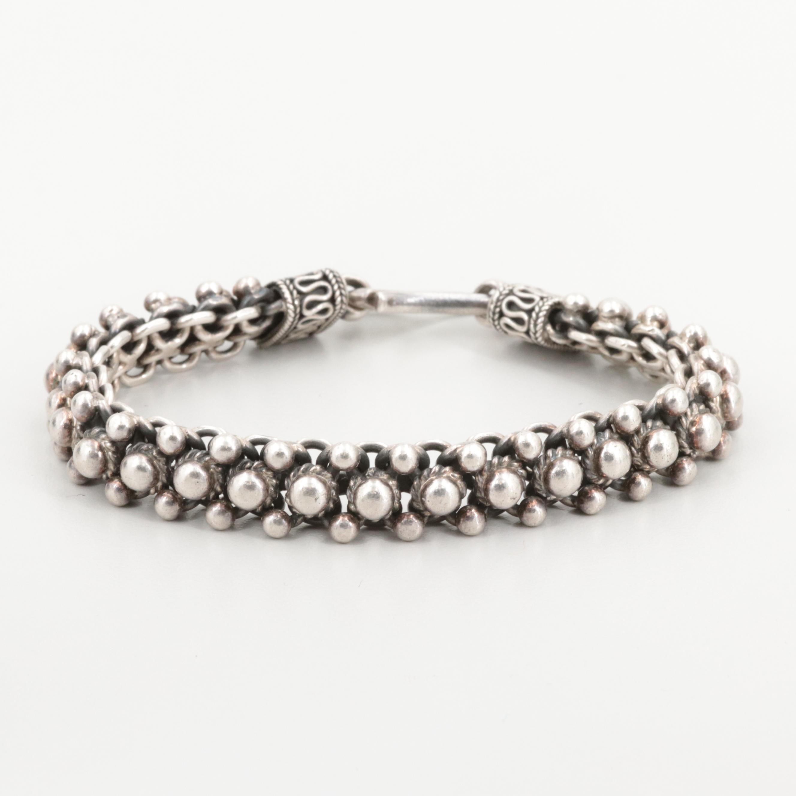 Suarti of Bali Sterling Silver Bracelet