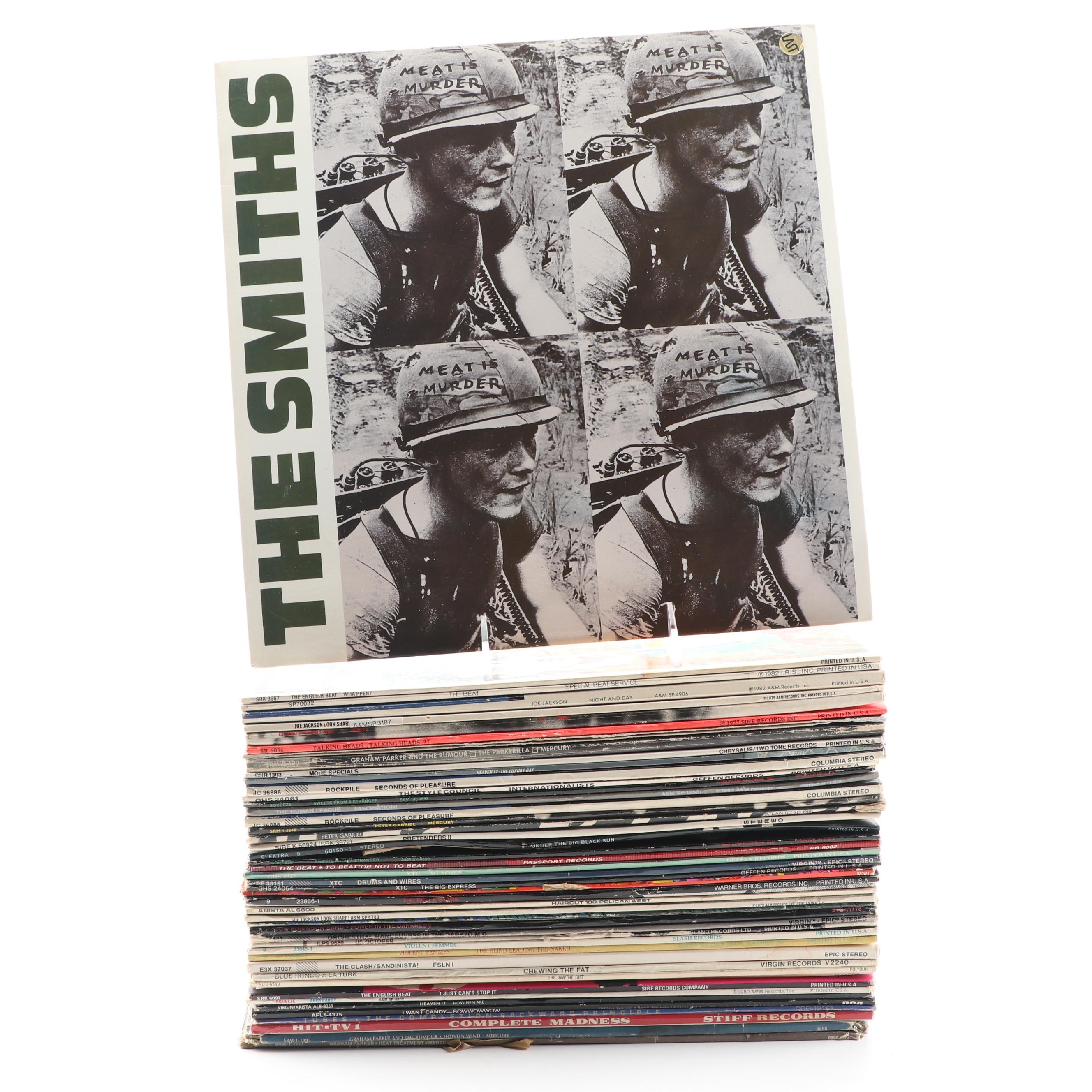 The Smiths, Joe Jackson, English Beat, XTC, Talking Heads and Other Rock Records