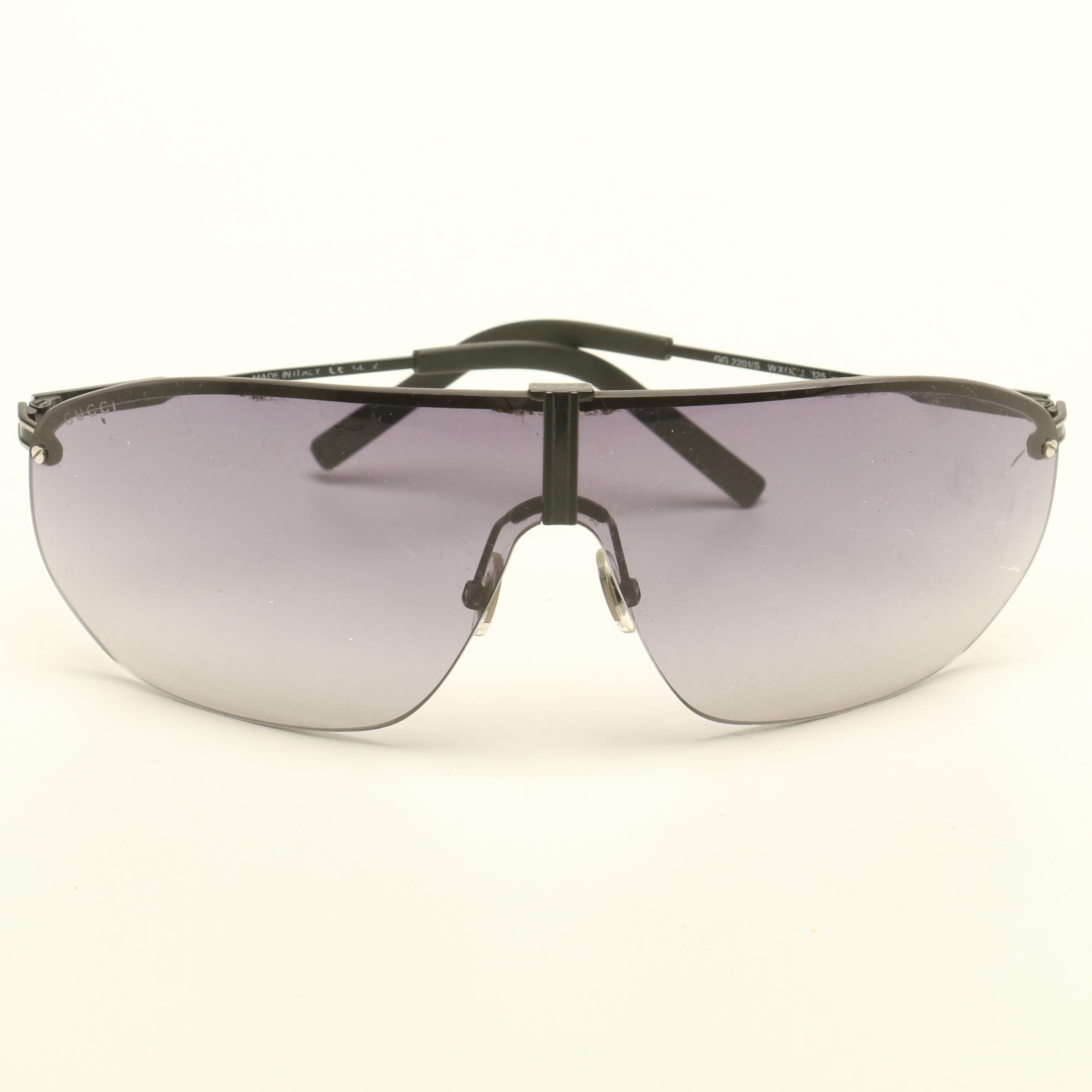 Gucci GG 2201/S Shield Sunglasses