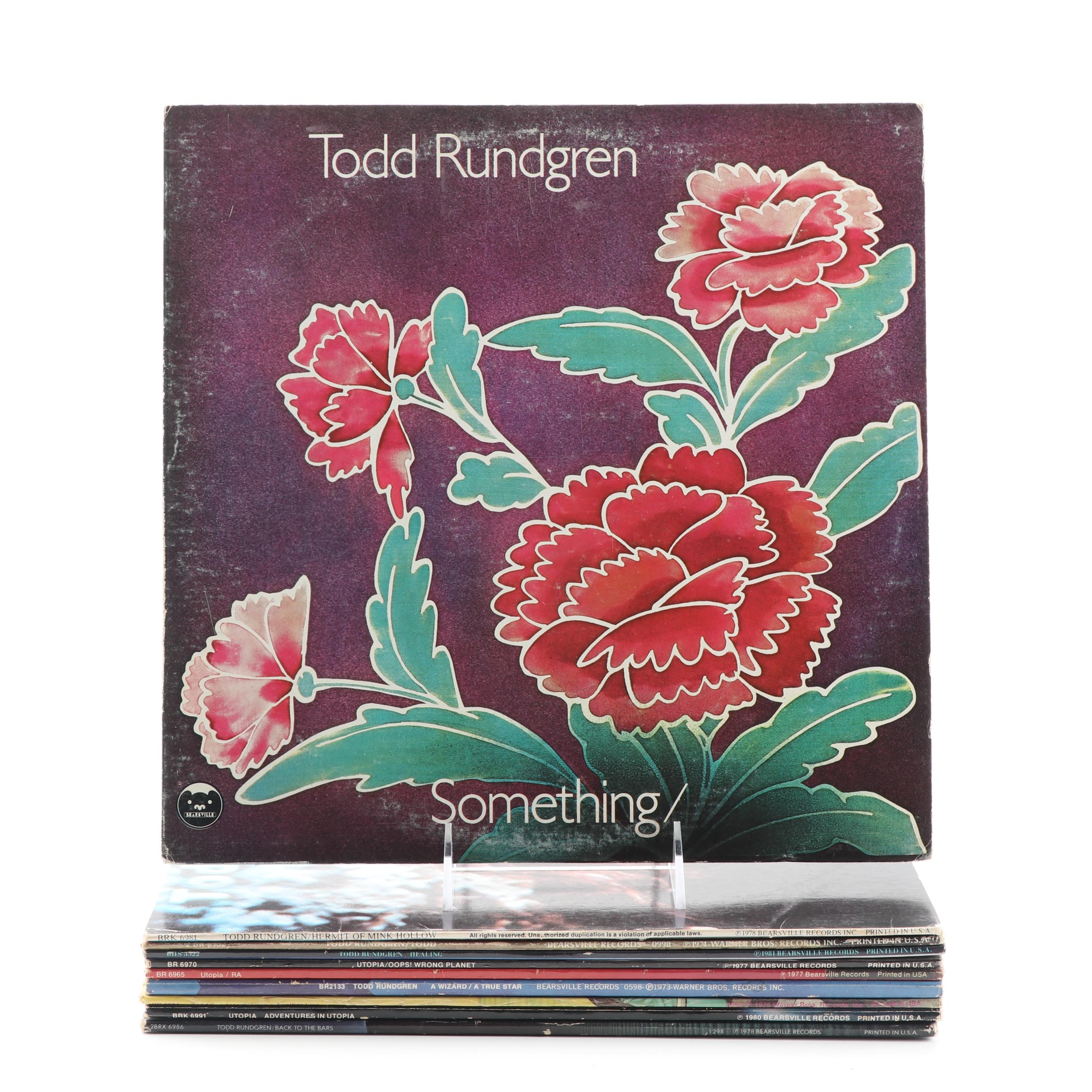 """""""Something/Anything"""", """"A Wizard, A True Star"""" and Other Todd Rundgren Records"""
