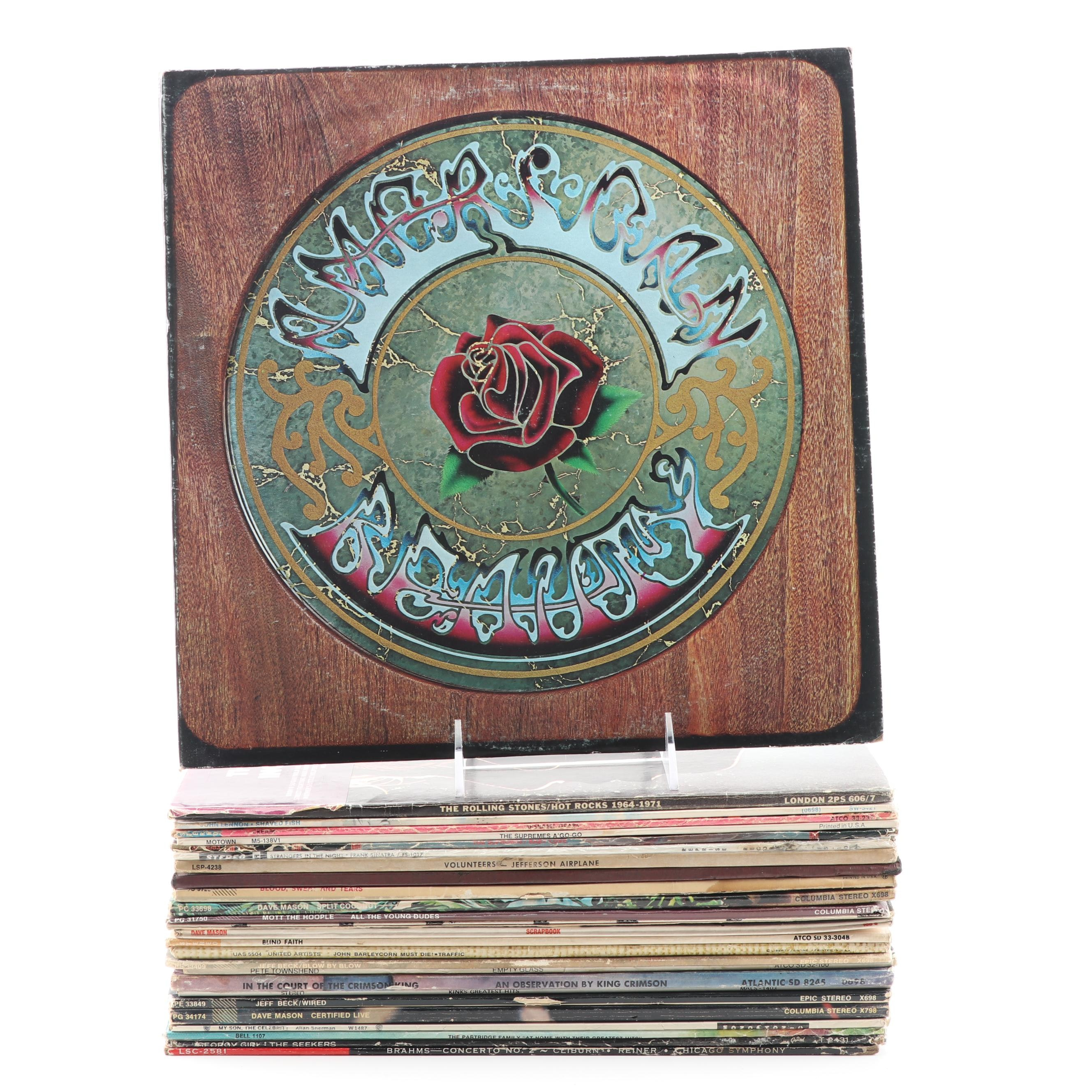 Grateful Dead, Stones, Cream, Traffic, King Crimson and Other Rock Records