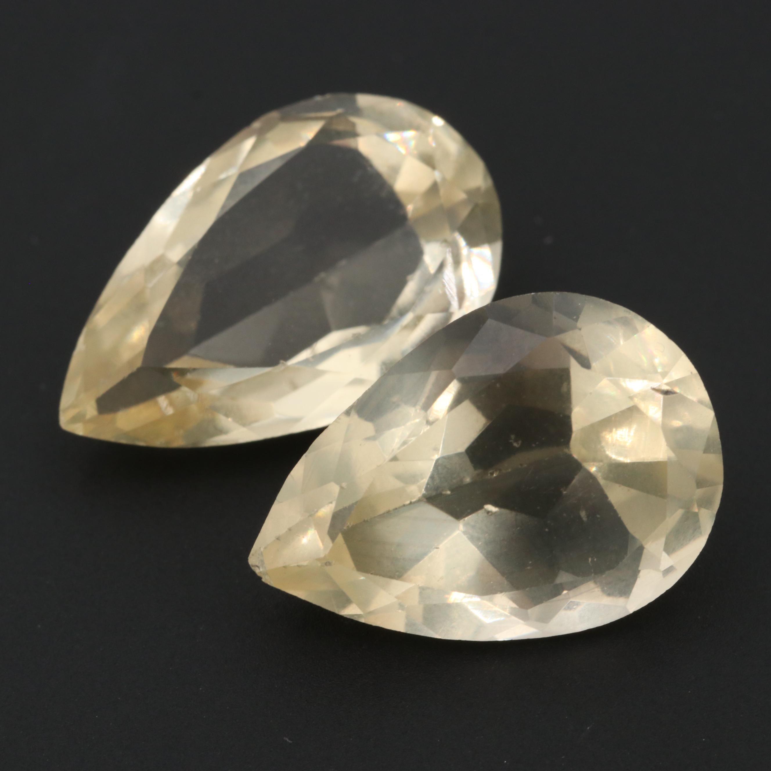 Loose 13.70 CTW Labradorite Feldspar Gemstones
