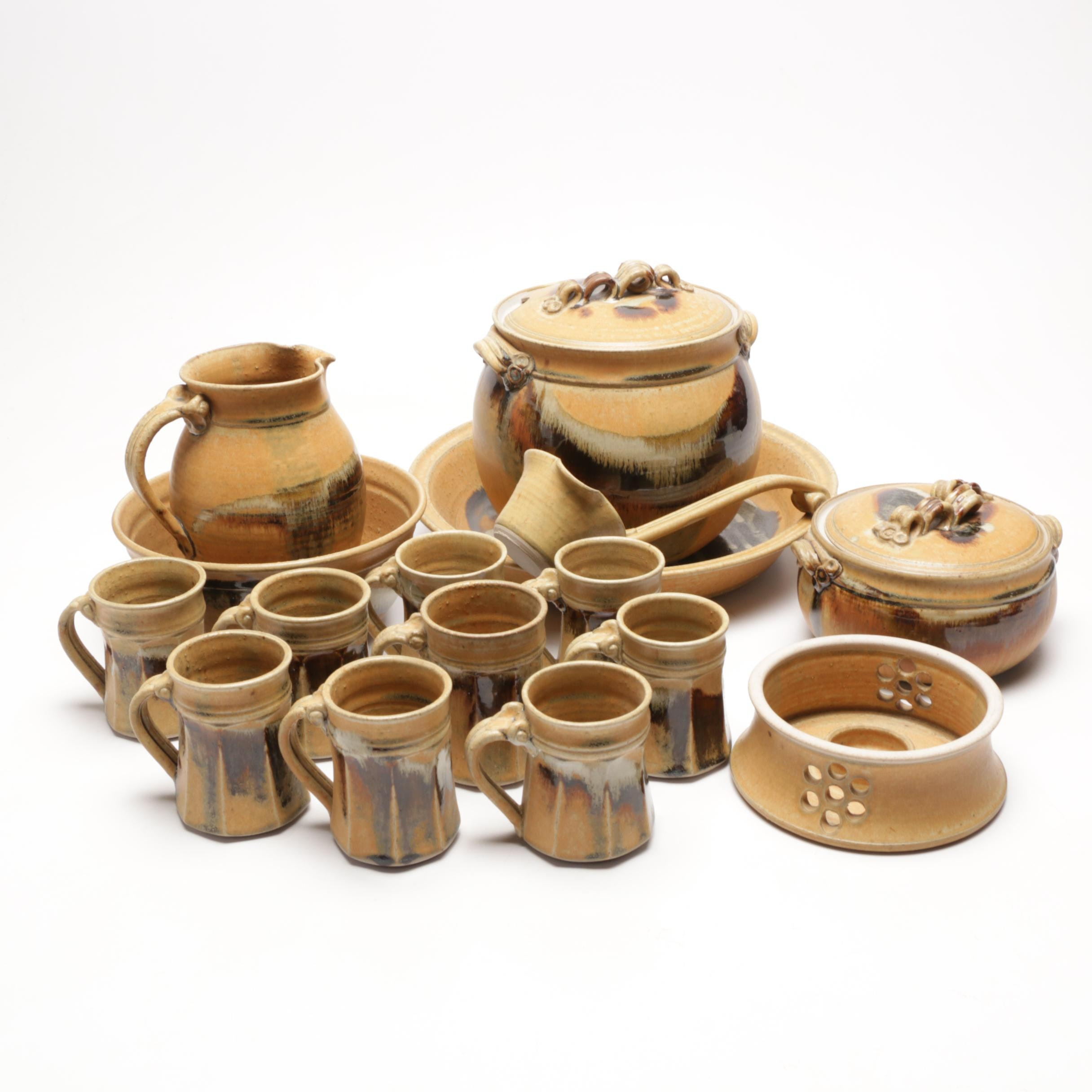 RW Pottery Thrown Stoneware Dinnerware