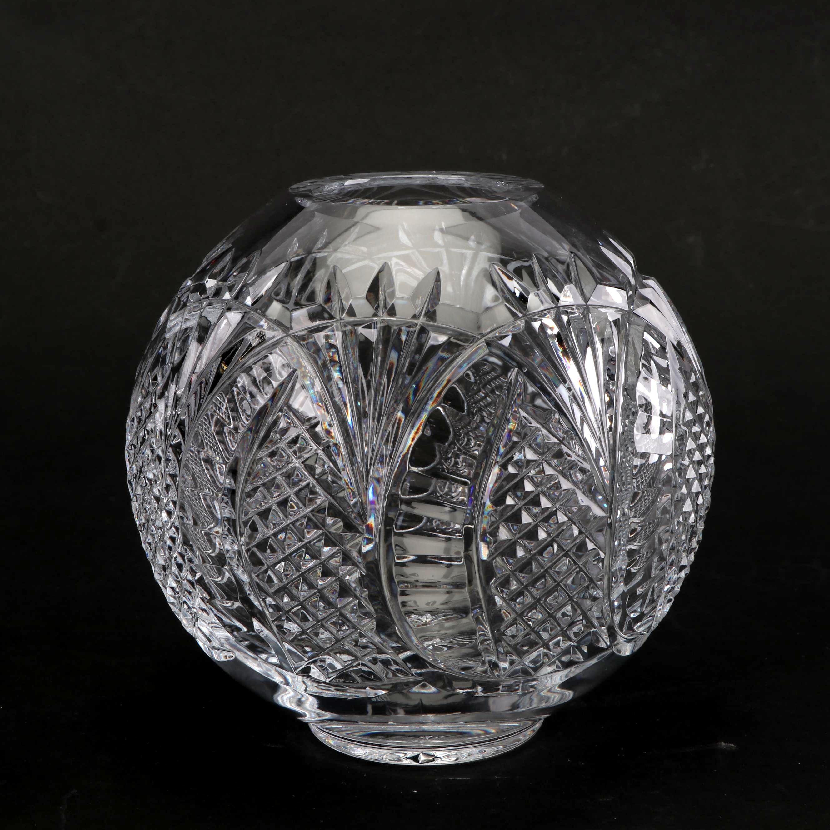 "Waterford Crystal ""Seahorse"" Rose Bowl"