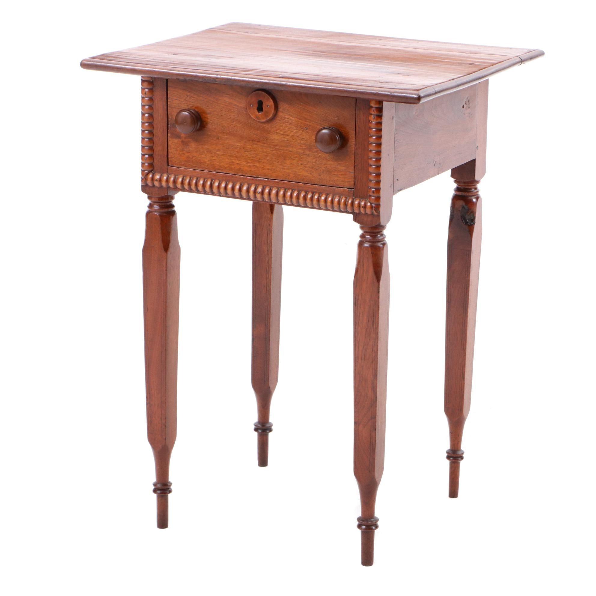 Mid 19th Century Walnut Side Table