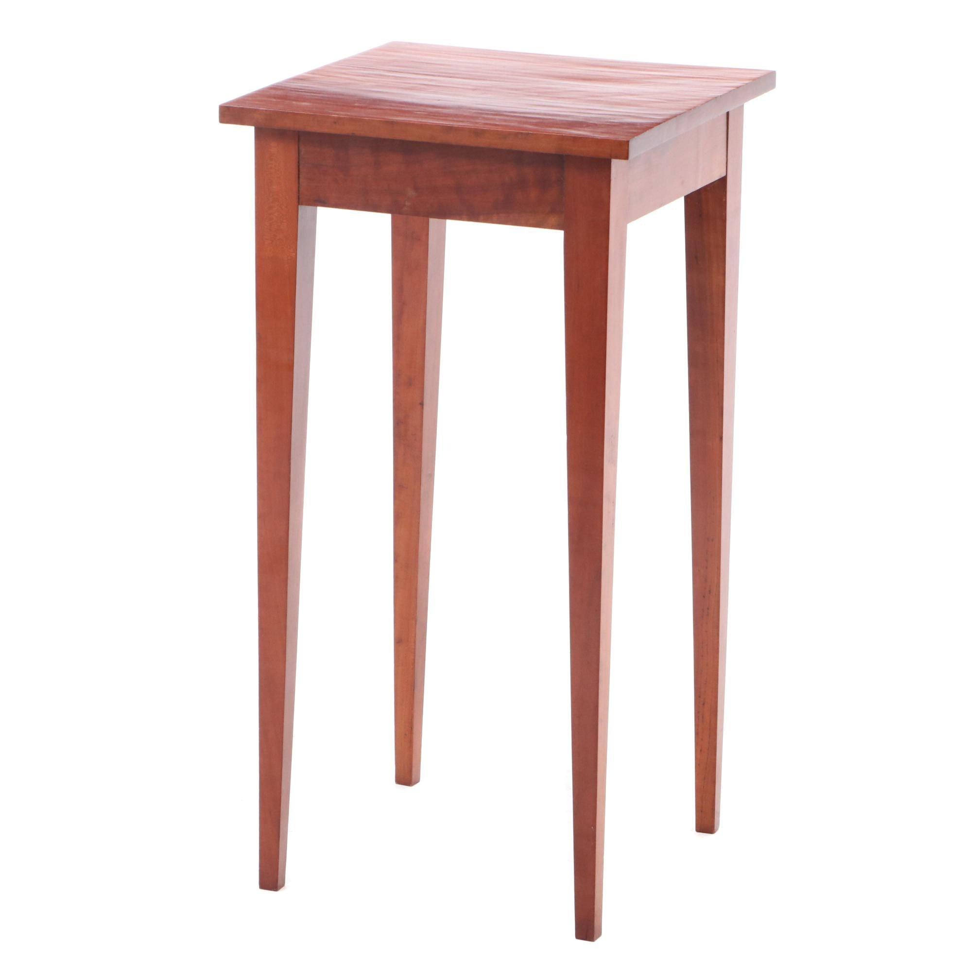 Hepplewhite Style Cherry Side Table