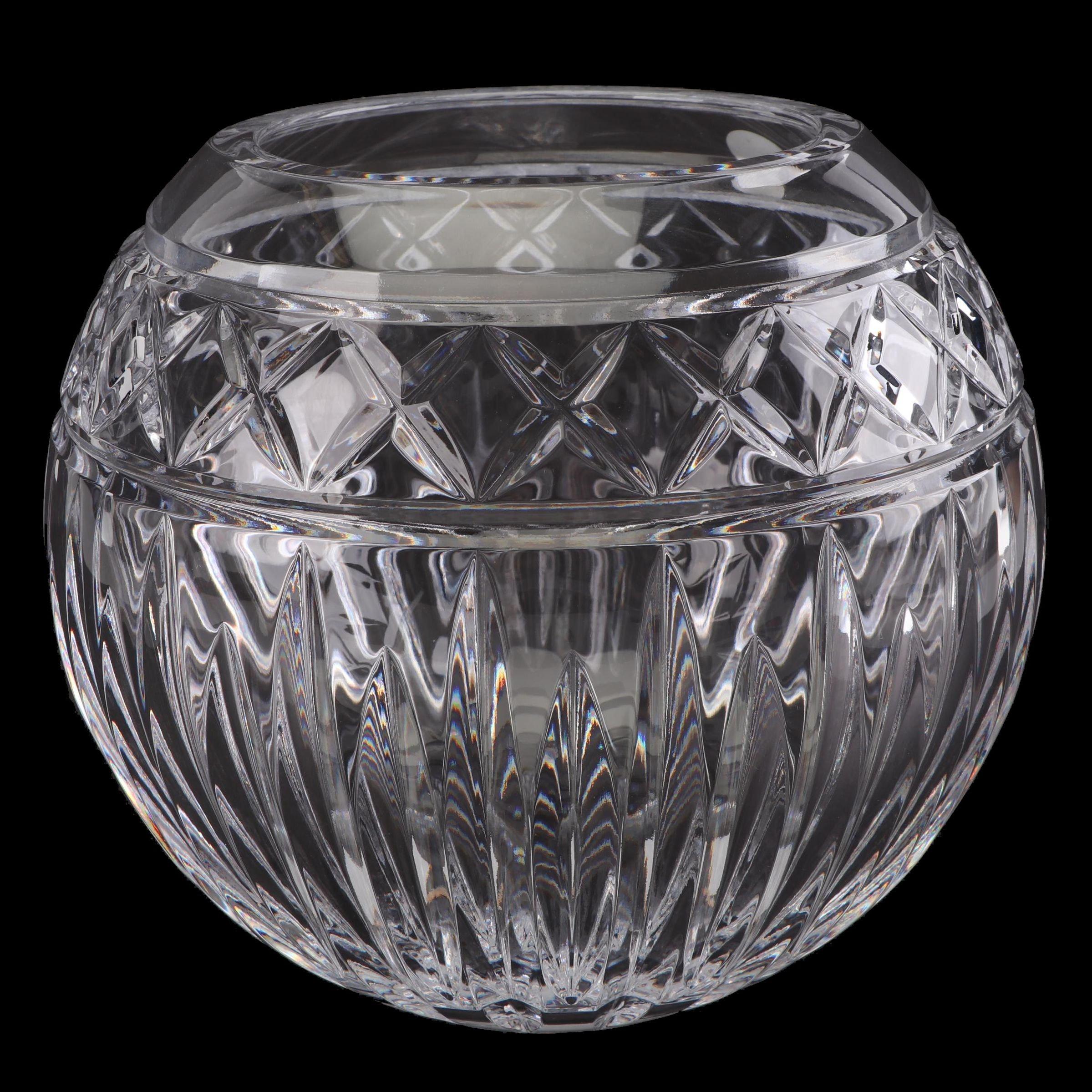"""Waterford Crystal """"Heritage"""" Rose Bowl"""
