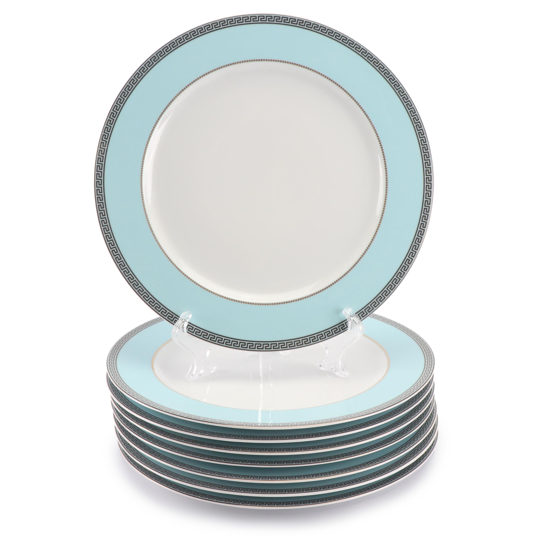 "Versace Rosenthal ""Continental"" Porcelain Service Plates"