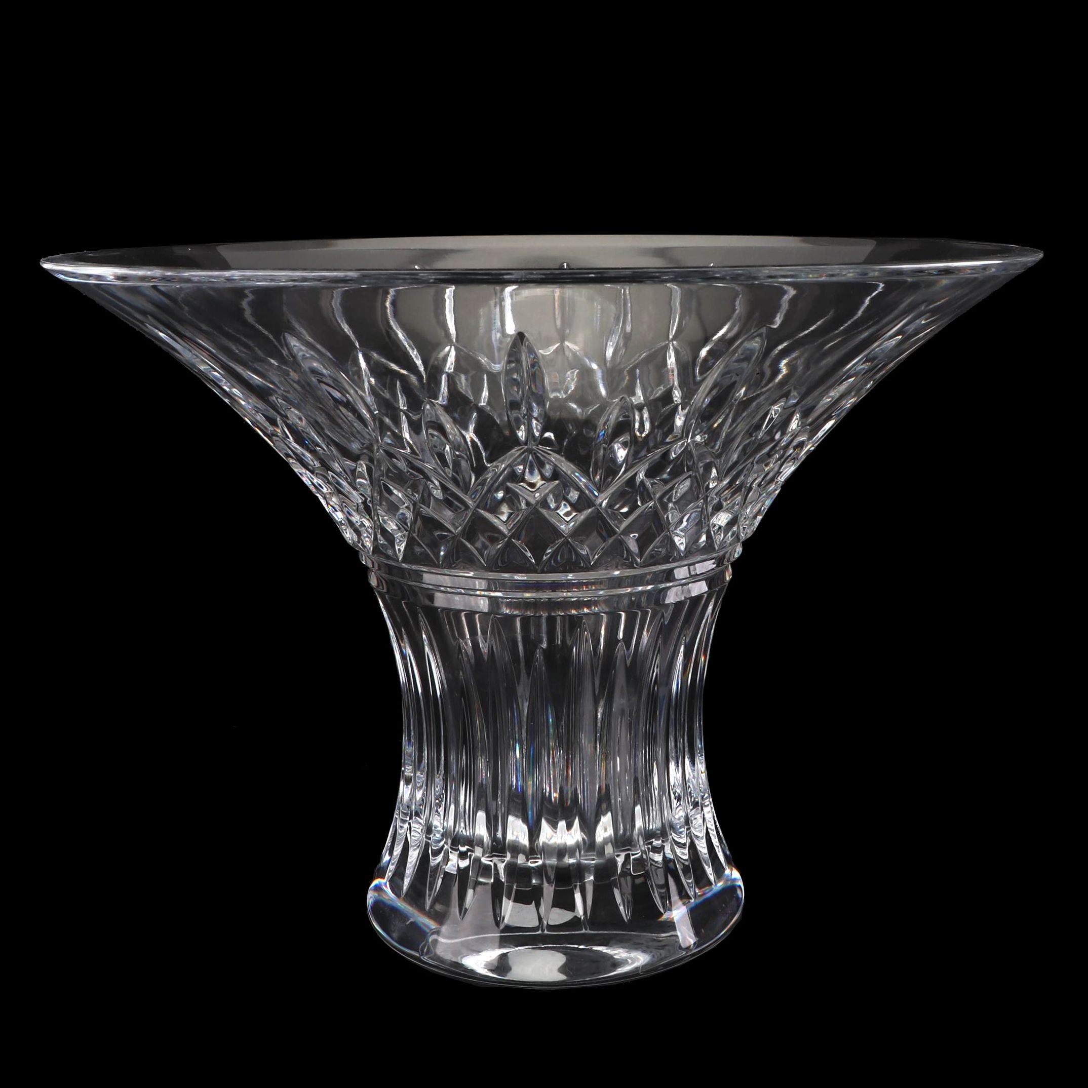 """Waterford Crystal """"Lismore"""" Flared Bouquet Bowl"""