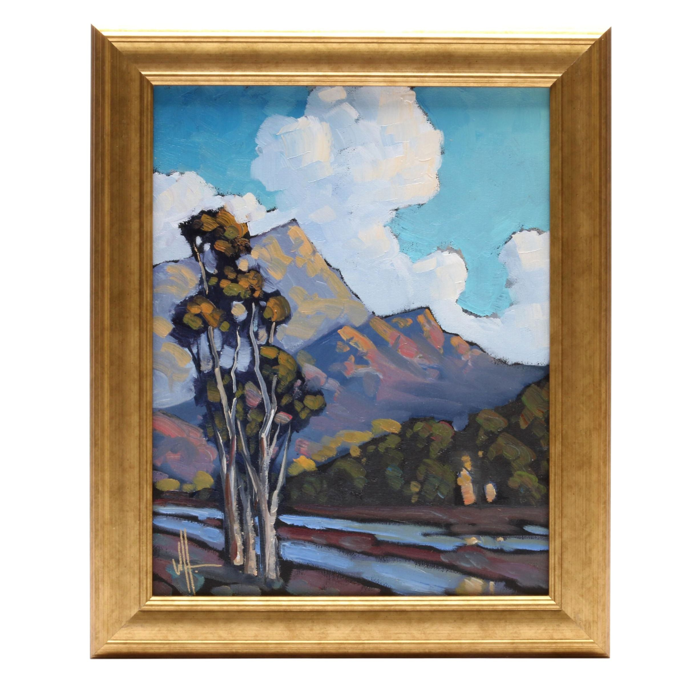William Hawkins 2018 American Landscape Oil Painting