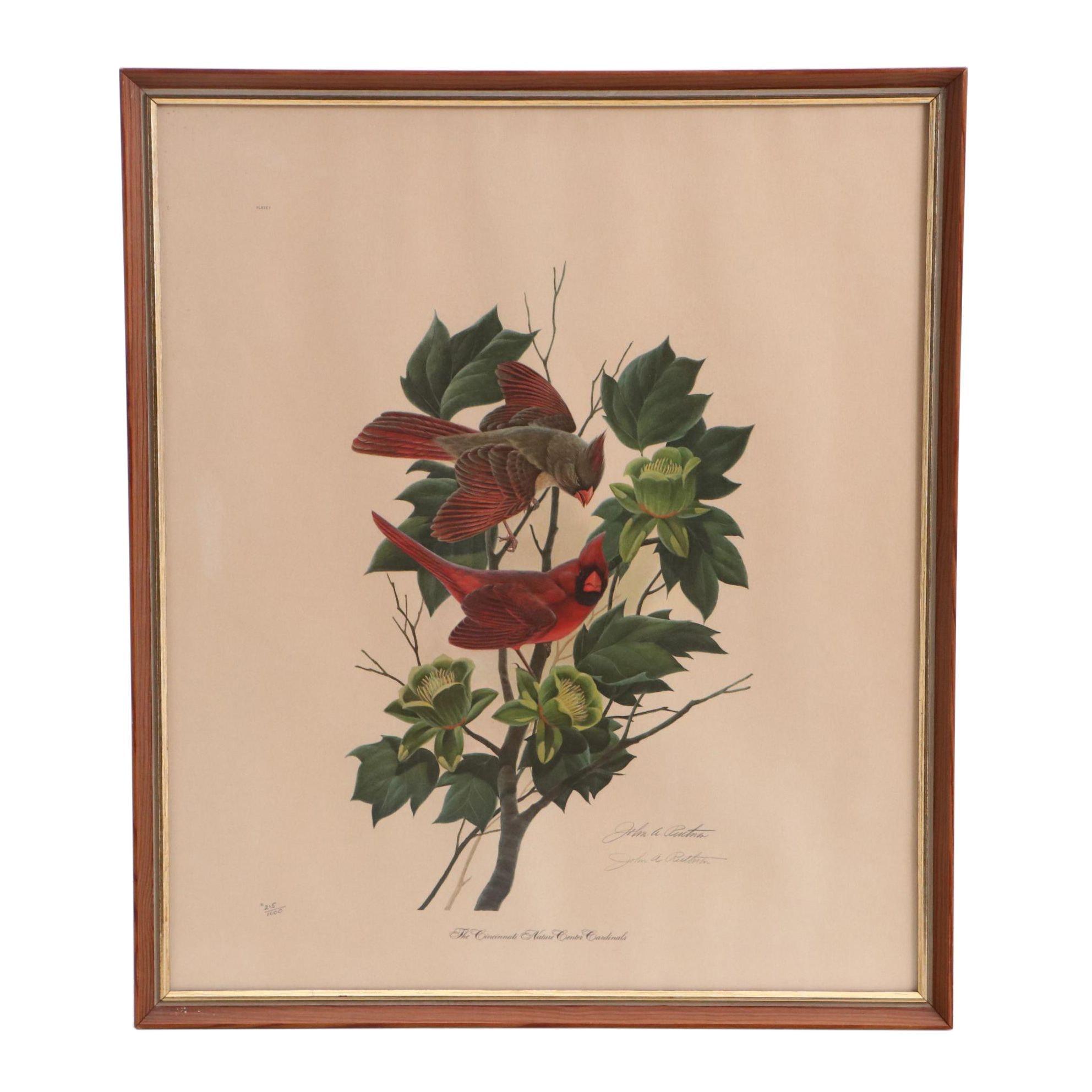 "John Ruthven Limited Edition Offset Lithograph ""The Cincinnati Nature Center..."""