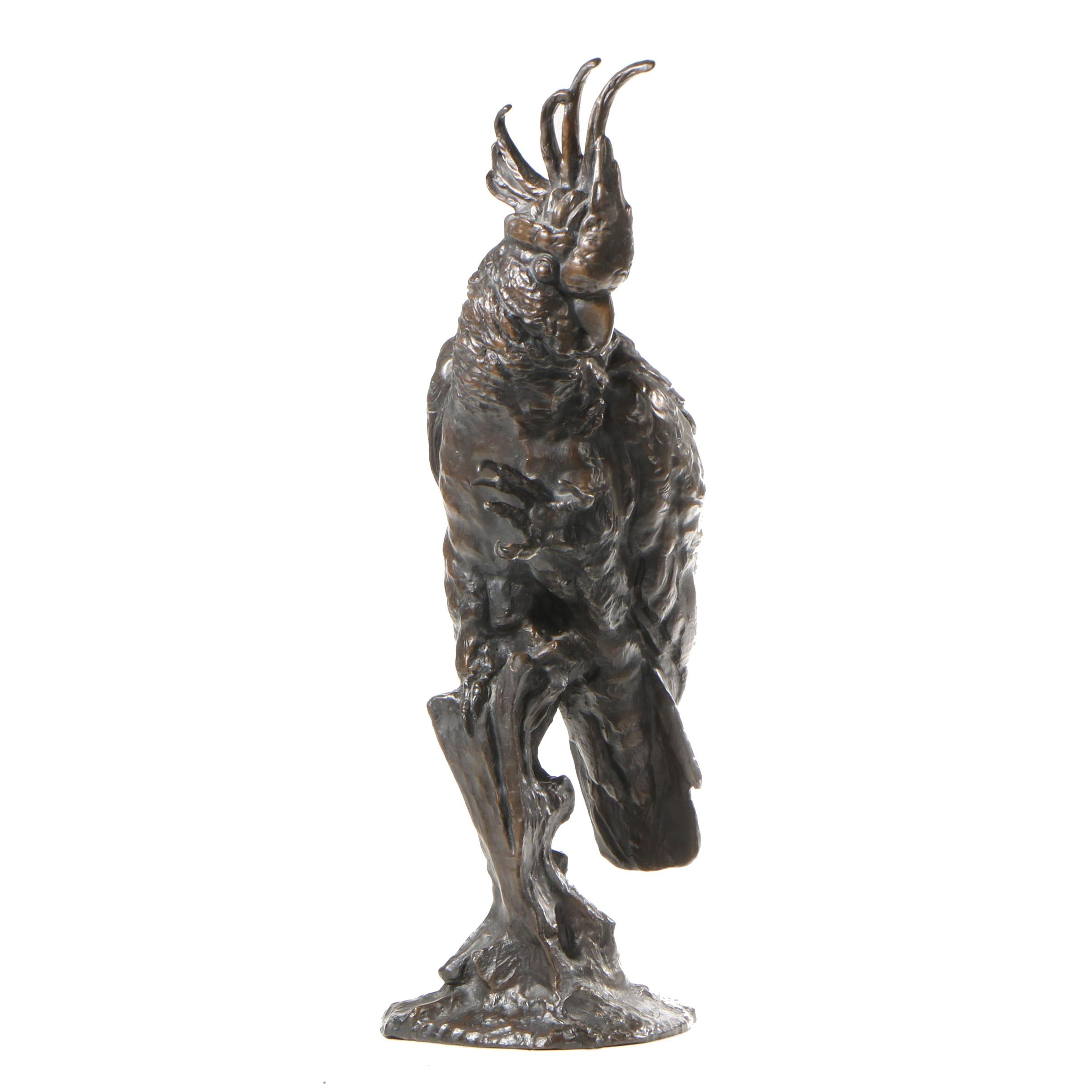 Limited Edition Bronze Sculpture after Carl Kauba