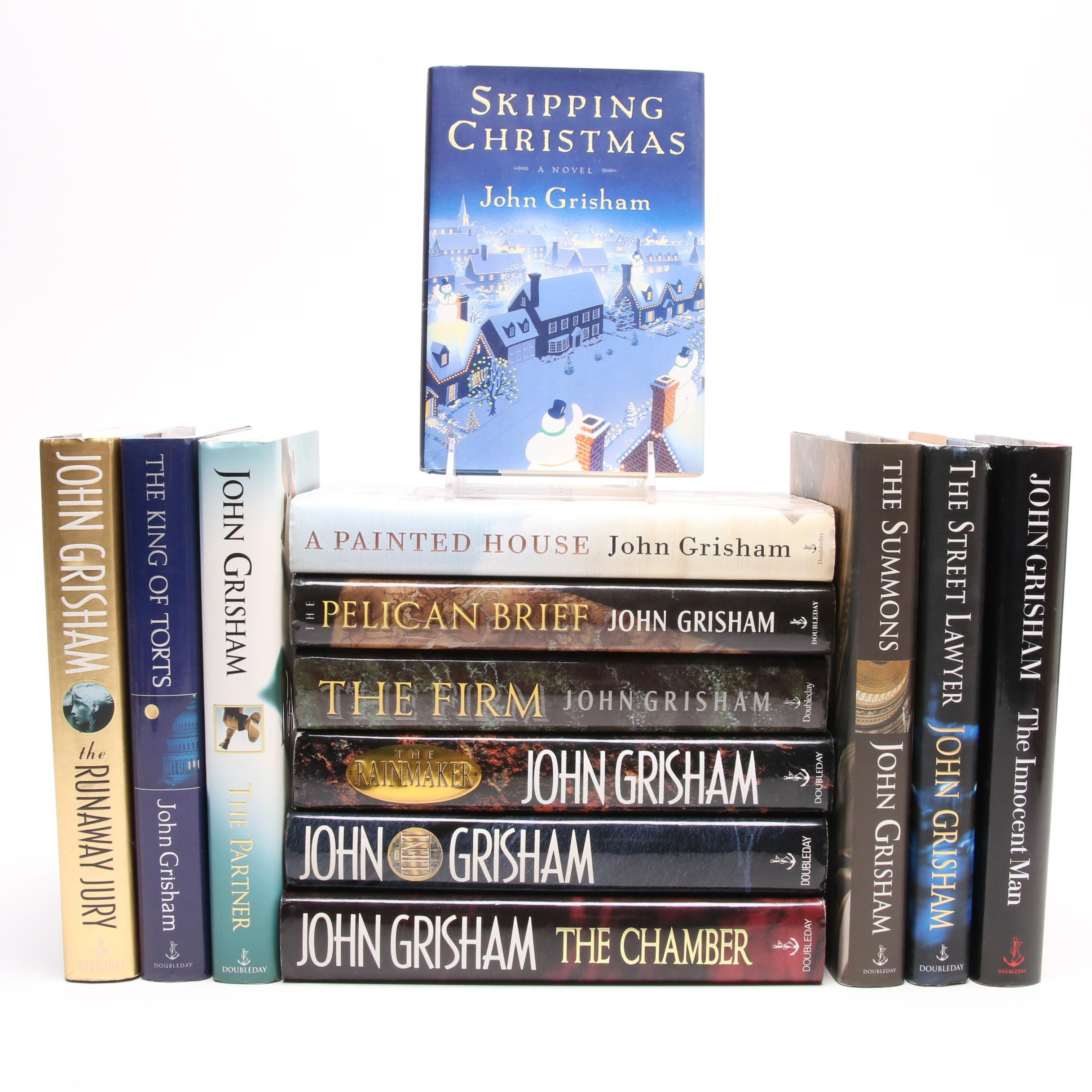 John Grisham Book Collection including First Editions