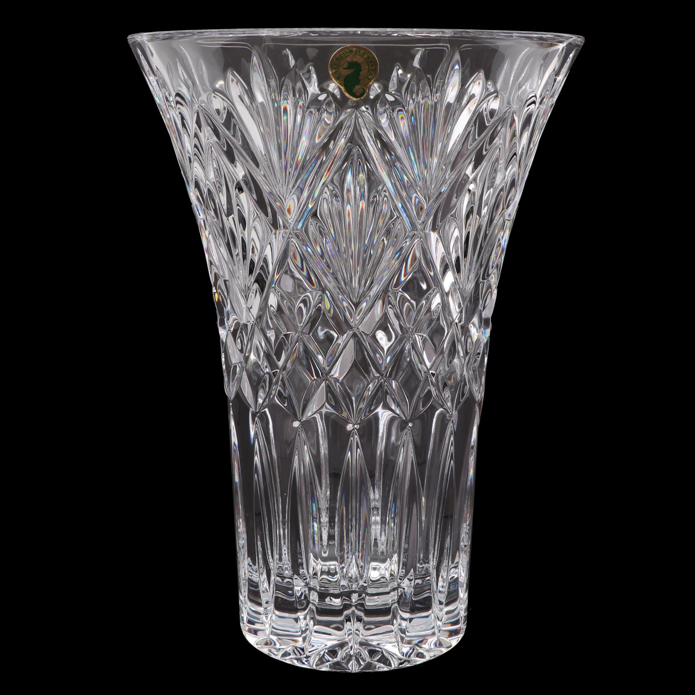 """Waterford Crystal """"Cassidy"""" Bouquet Vase"""