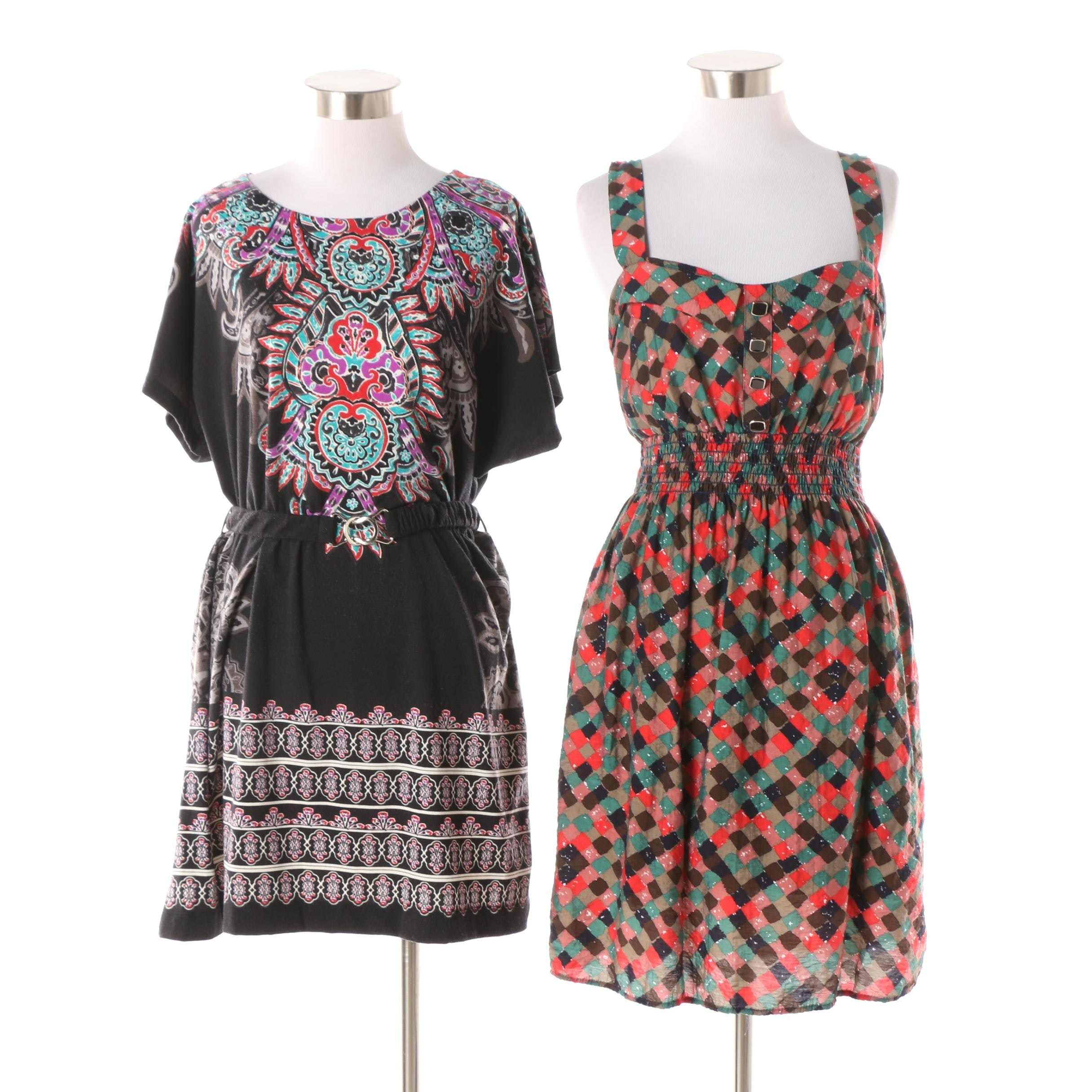 Patterned Dresses Including Forever 21