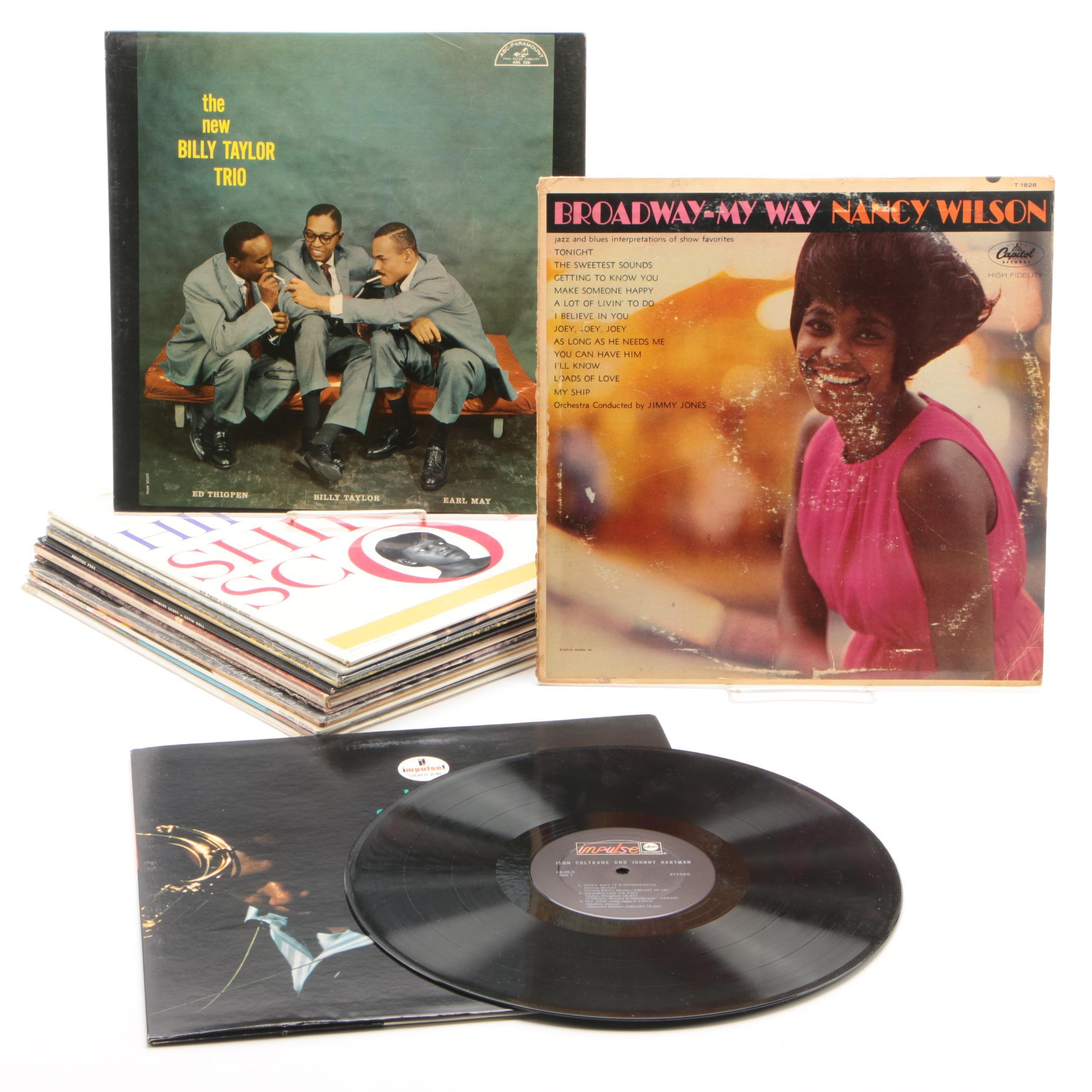 Jazz Vinyl Records From Herbie Hancock, Nancy Wilson, John Coltrane, and More