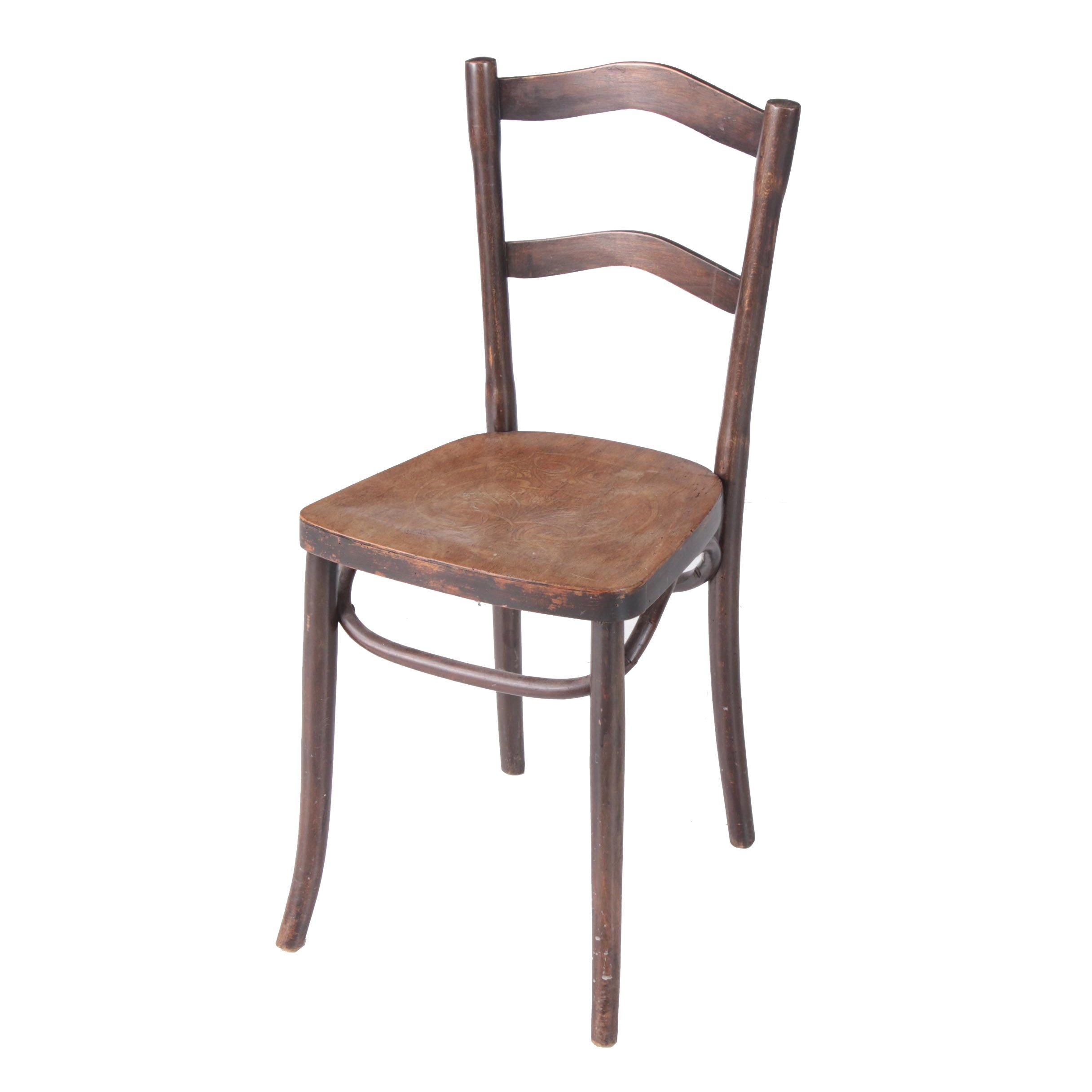 Bentwood Side Cafe Chair, Early 20th Century