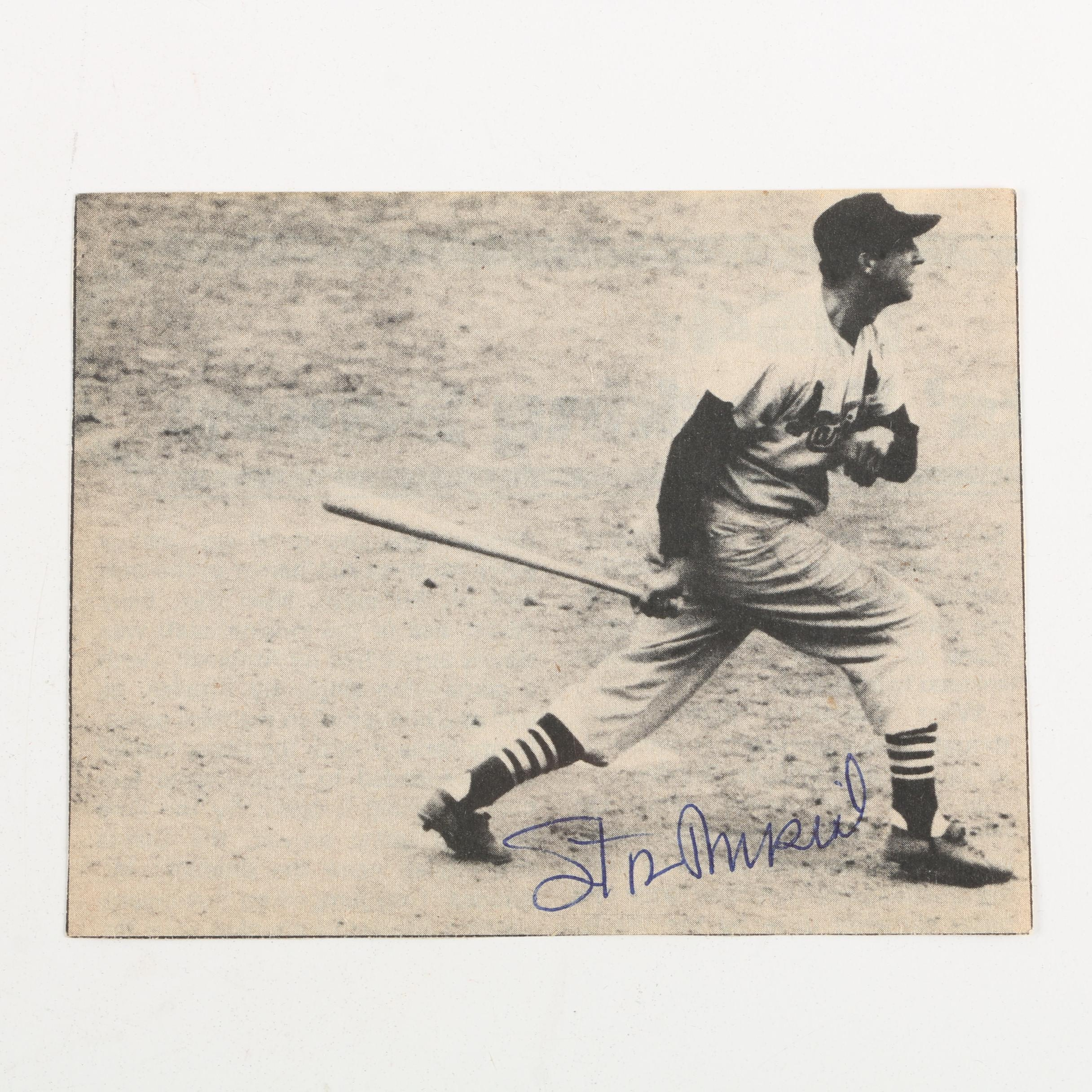 Stan Musial Autographed Photograph