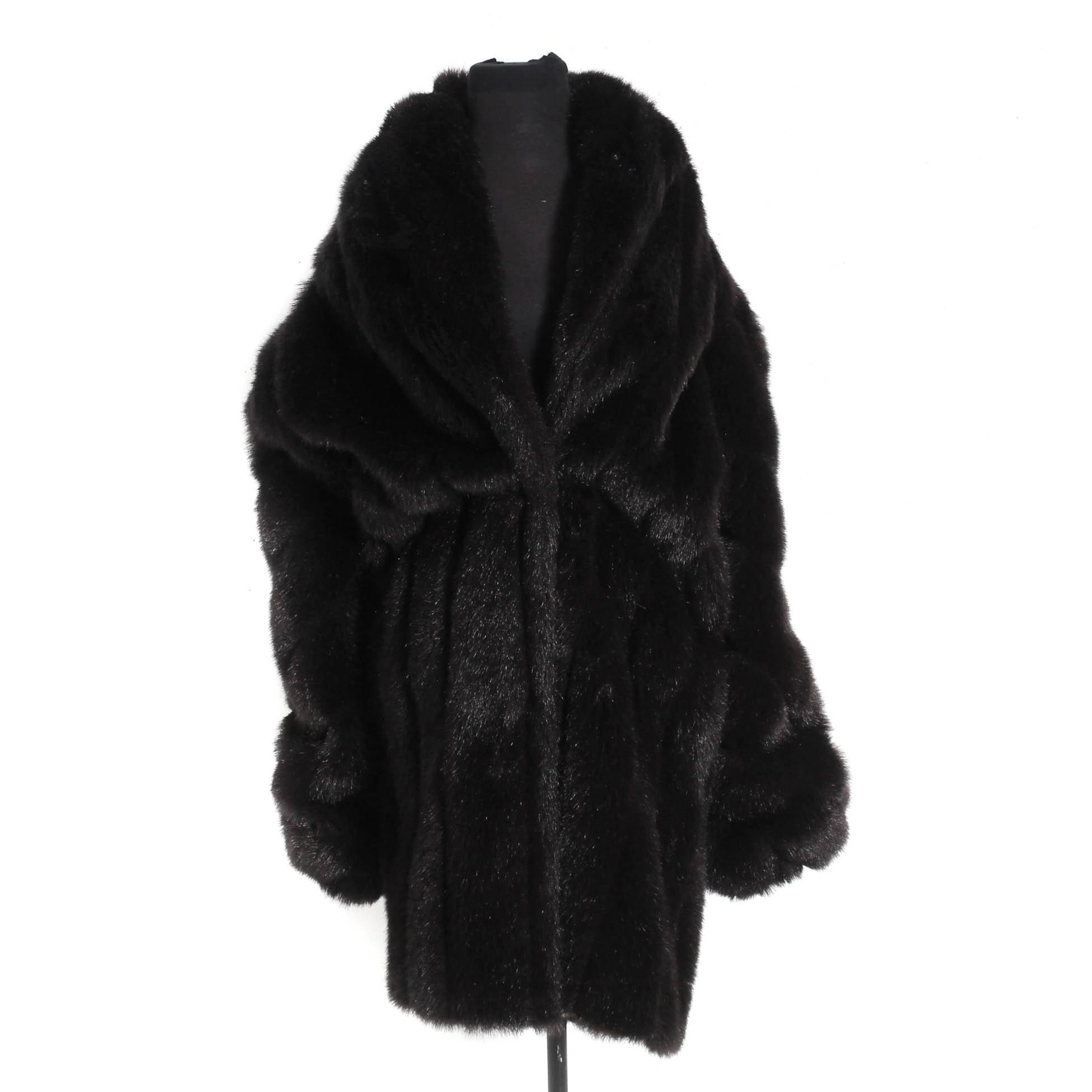 Monterey Fashions Faux Fur Jacket