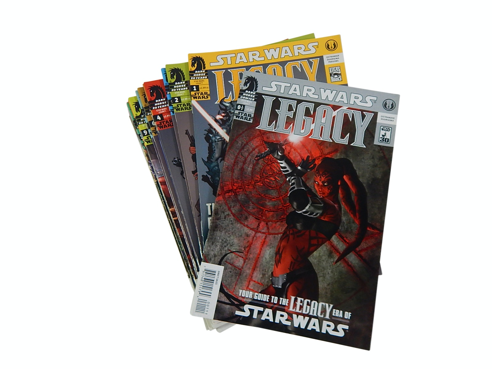 "Modern Age Dark Horse Comics with ""Star Wars Legacy"" Comic Books"