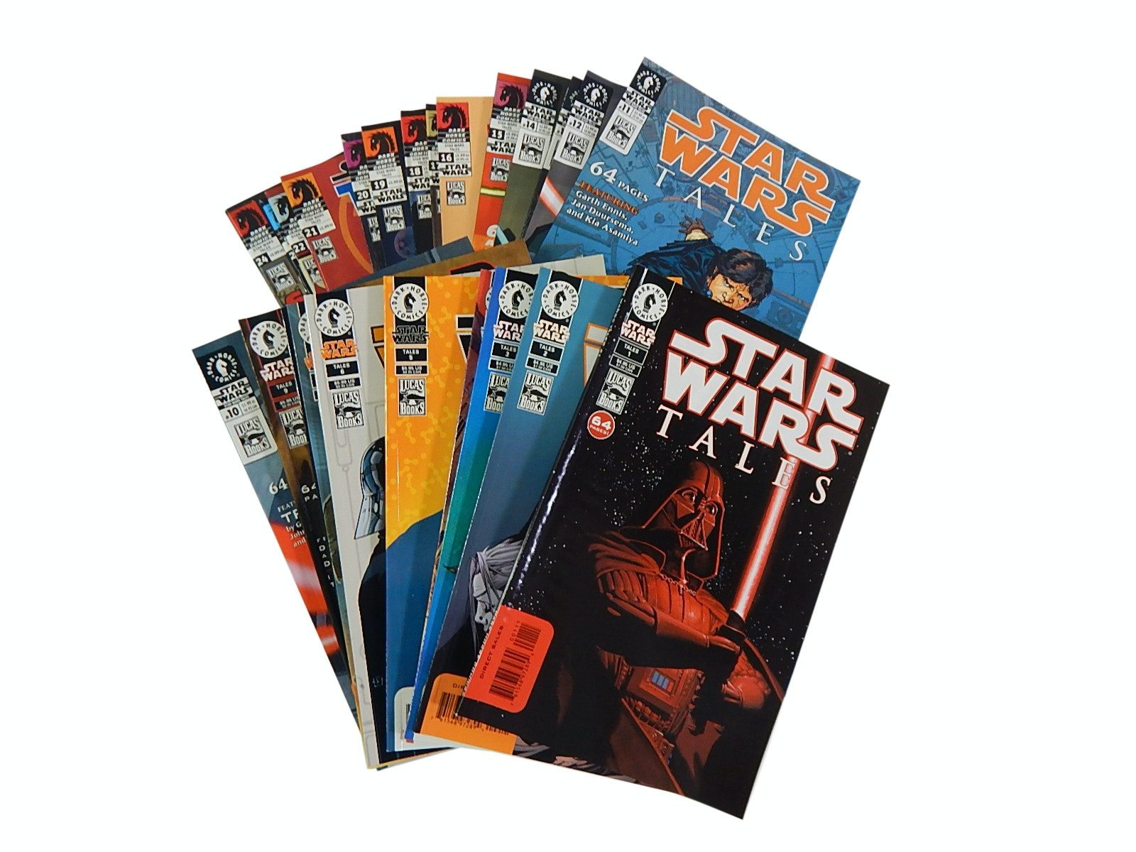 """Modern Age Dark Horse Comics with """"Star Wars Tales"""" First Issues"""