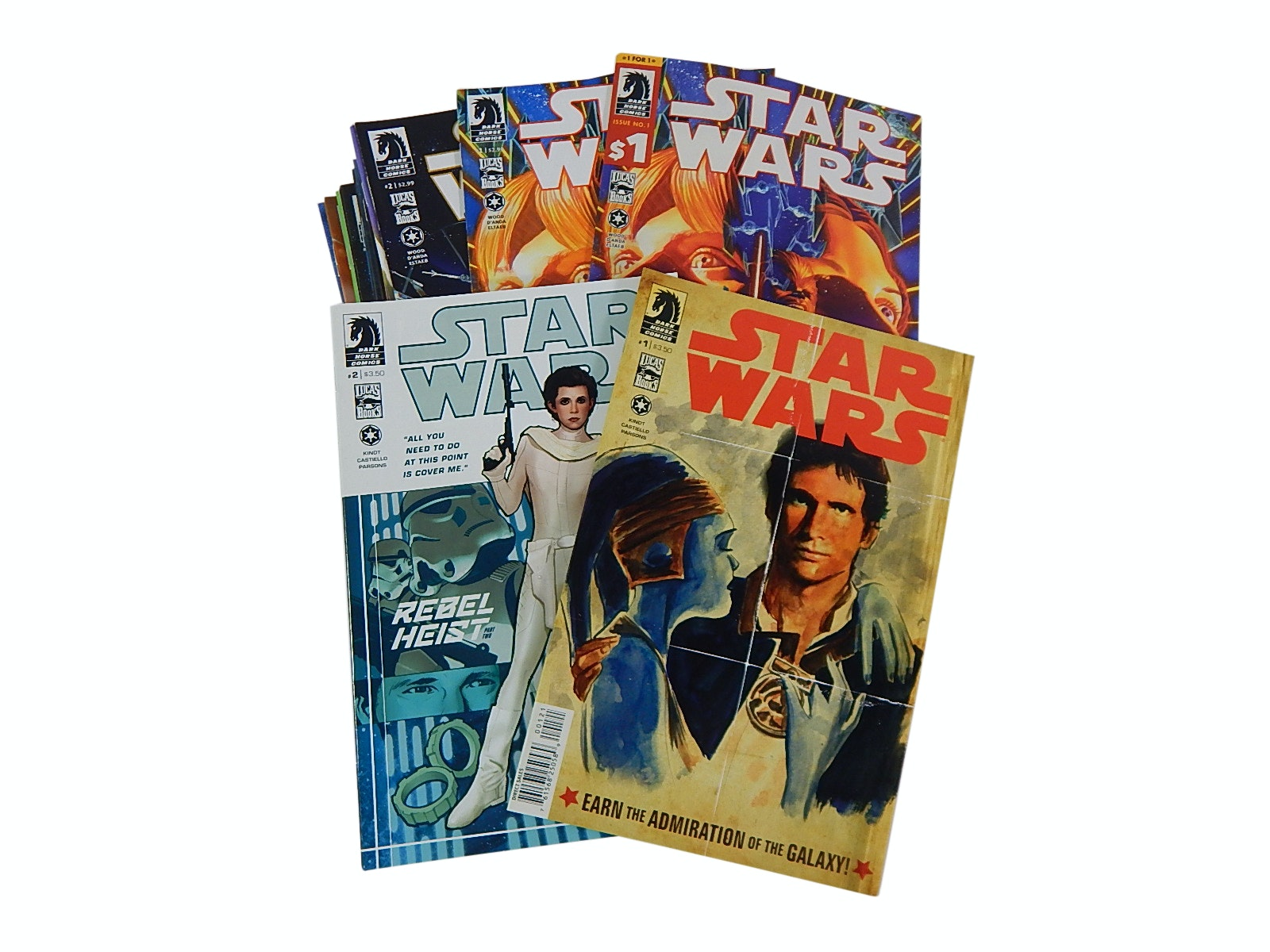 "Modern Age Dark Horse Comics with ""Star Wars"""