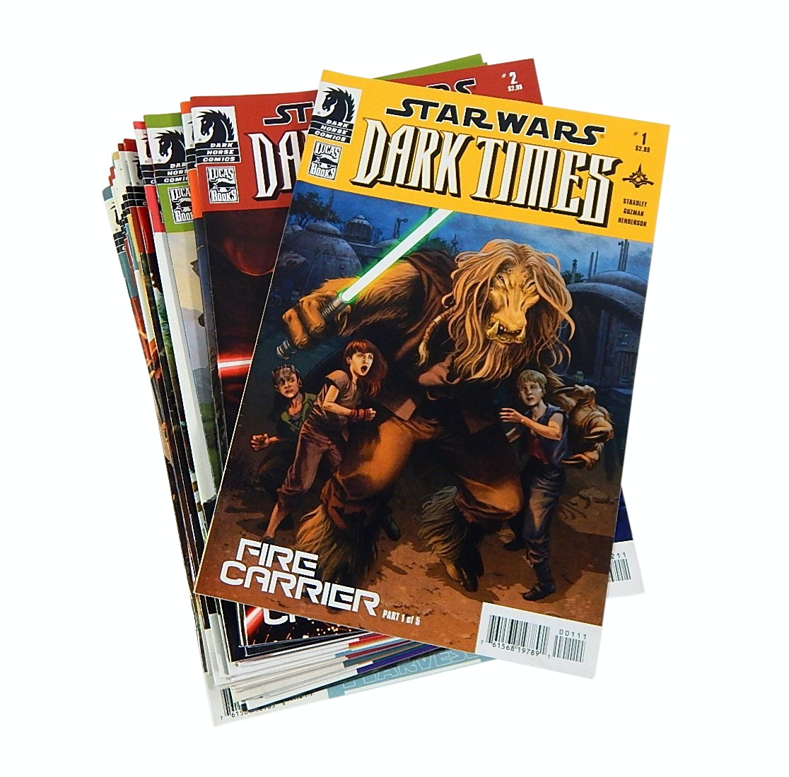 "Modern Age Dark Horse Comics with ""Star Wars Dark Times"" Comic Books"