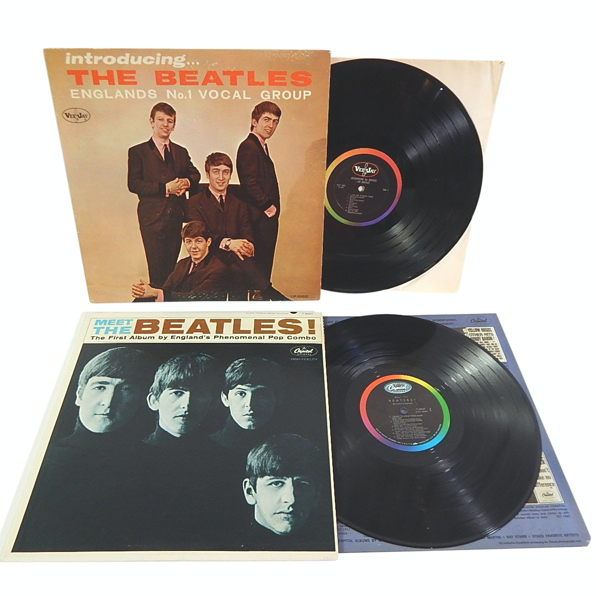 "1964 ""The Beatles"" 33 Rpm Monophonic Record Albums"