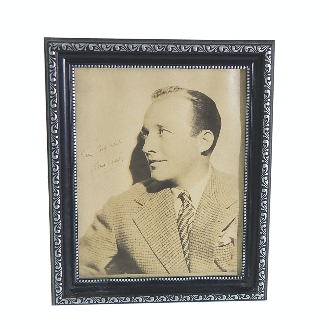 Vintage Bing Crosby Signed Photograph