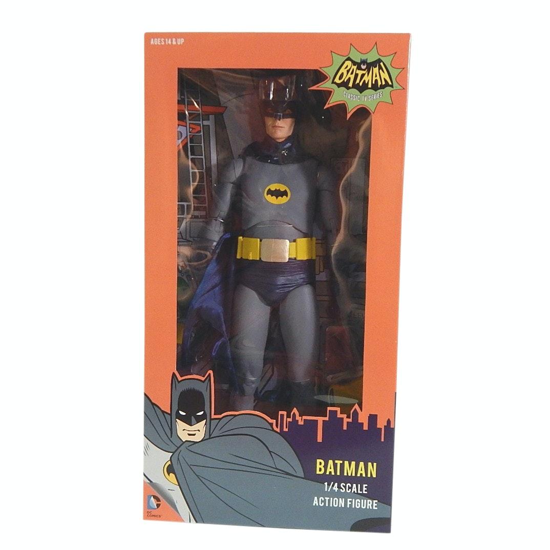 "Classic TV ""Batman"" 1/4 Scale Action Figure by Reel Toys"