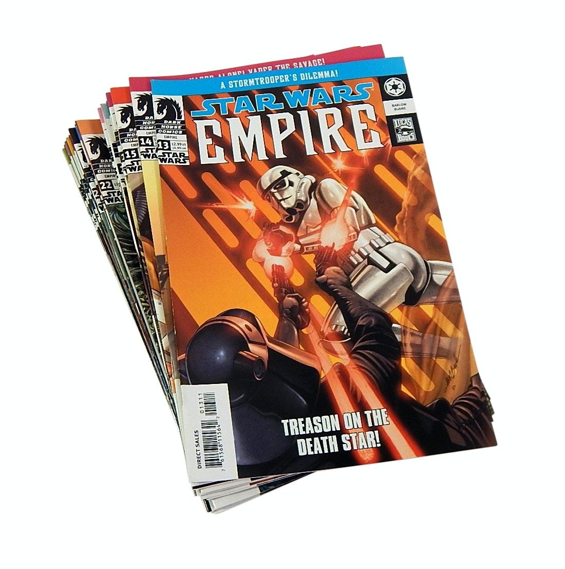 "Modern Age Dark Horse Comics with ""Star Wars Empire"" Comic Books"