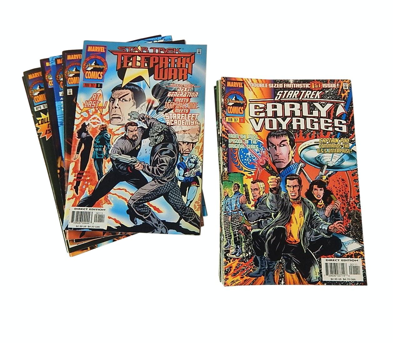 """Modern Age Marvel """"Star Trek"""" Comic Books"""